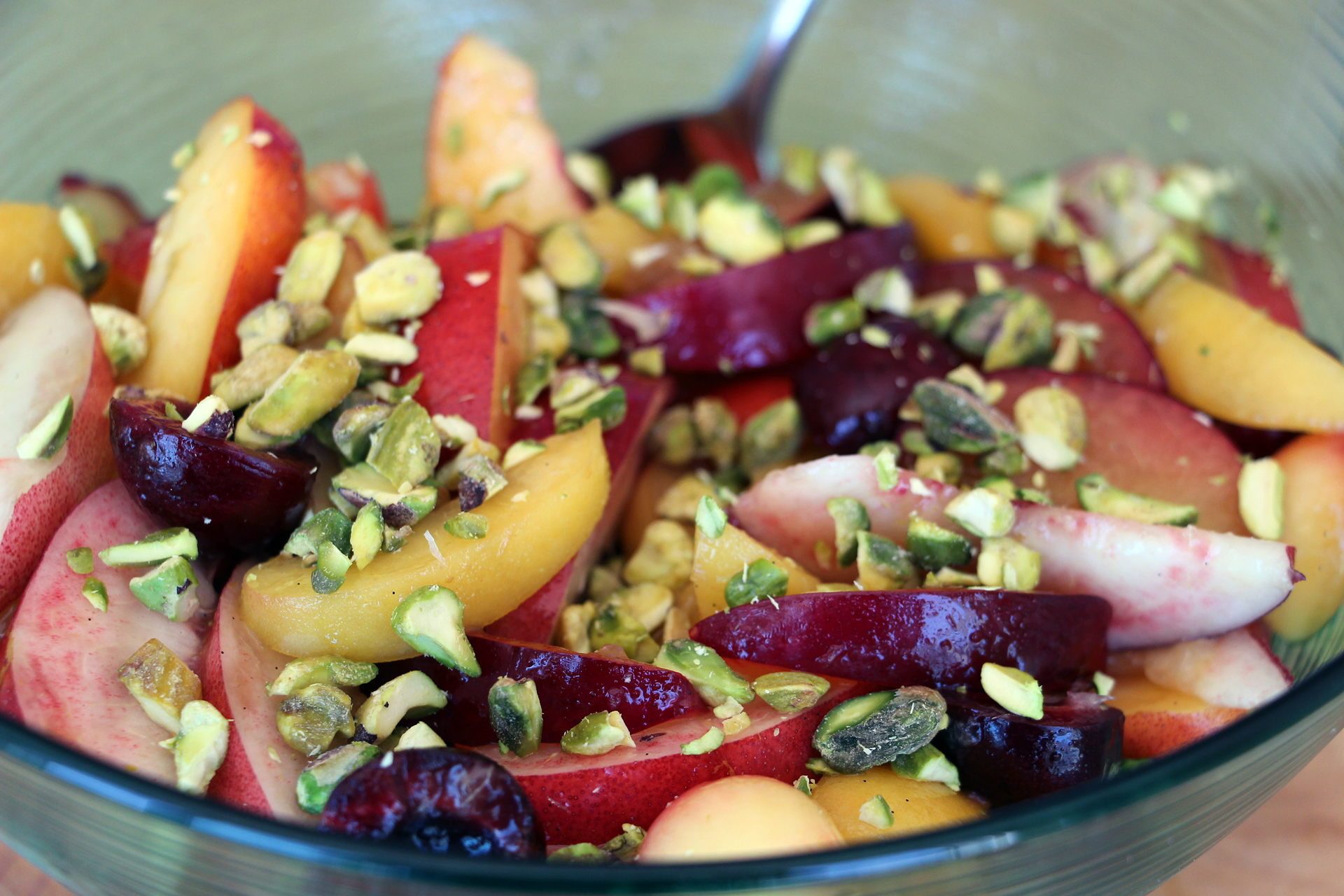 Summer Stone Fruit Salad