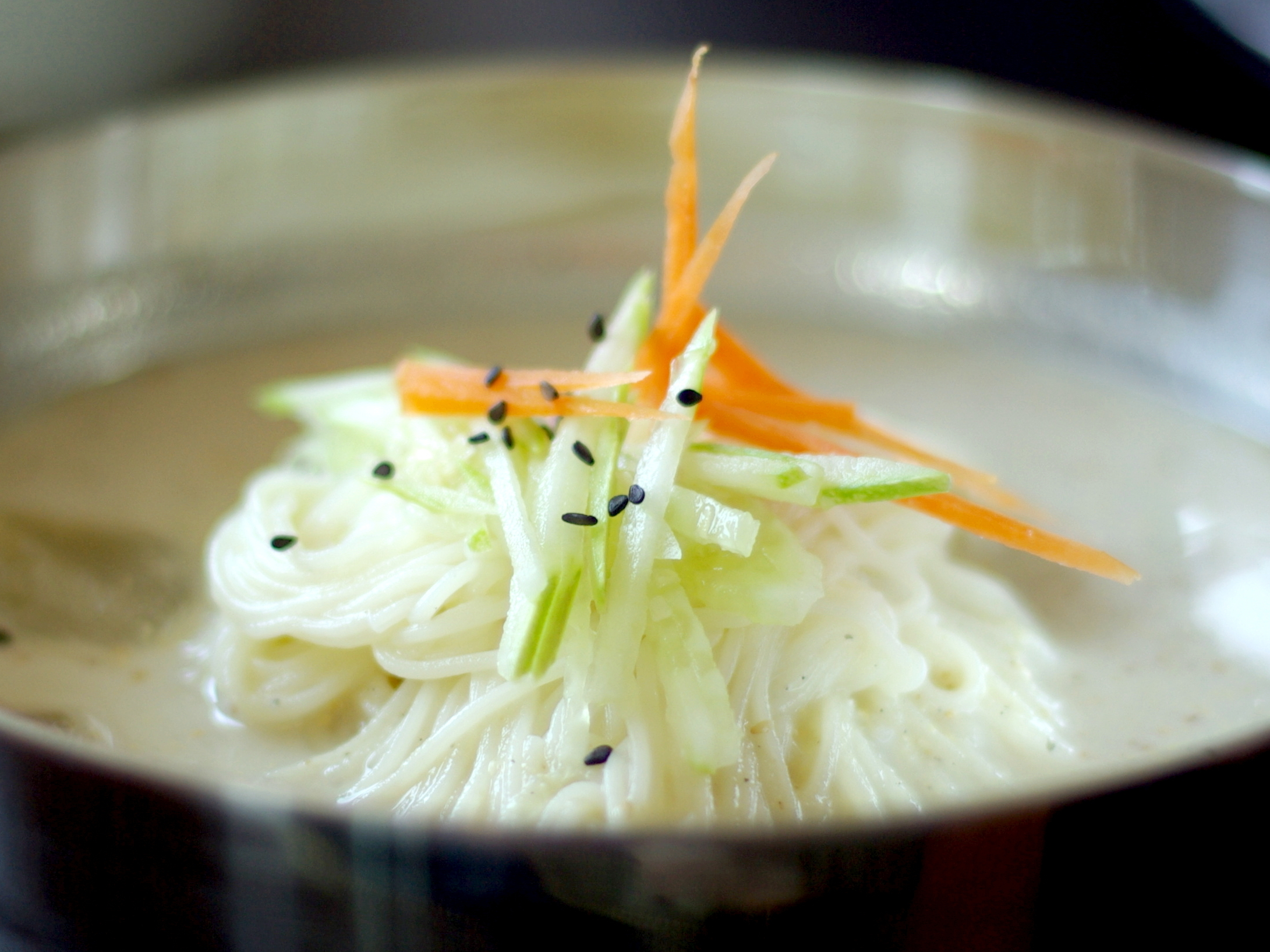Kongguksu — Korean soybean noodles