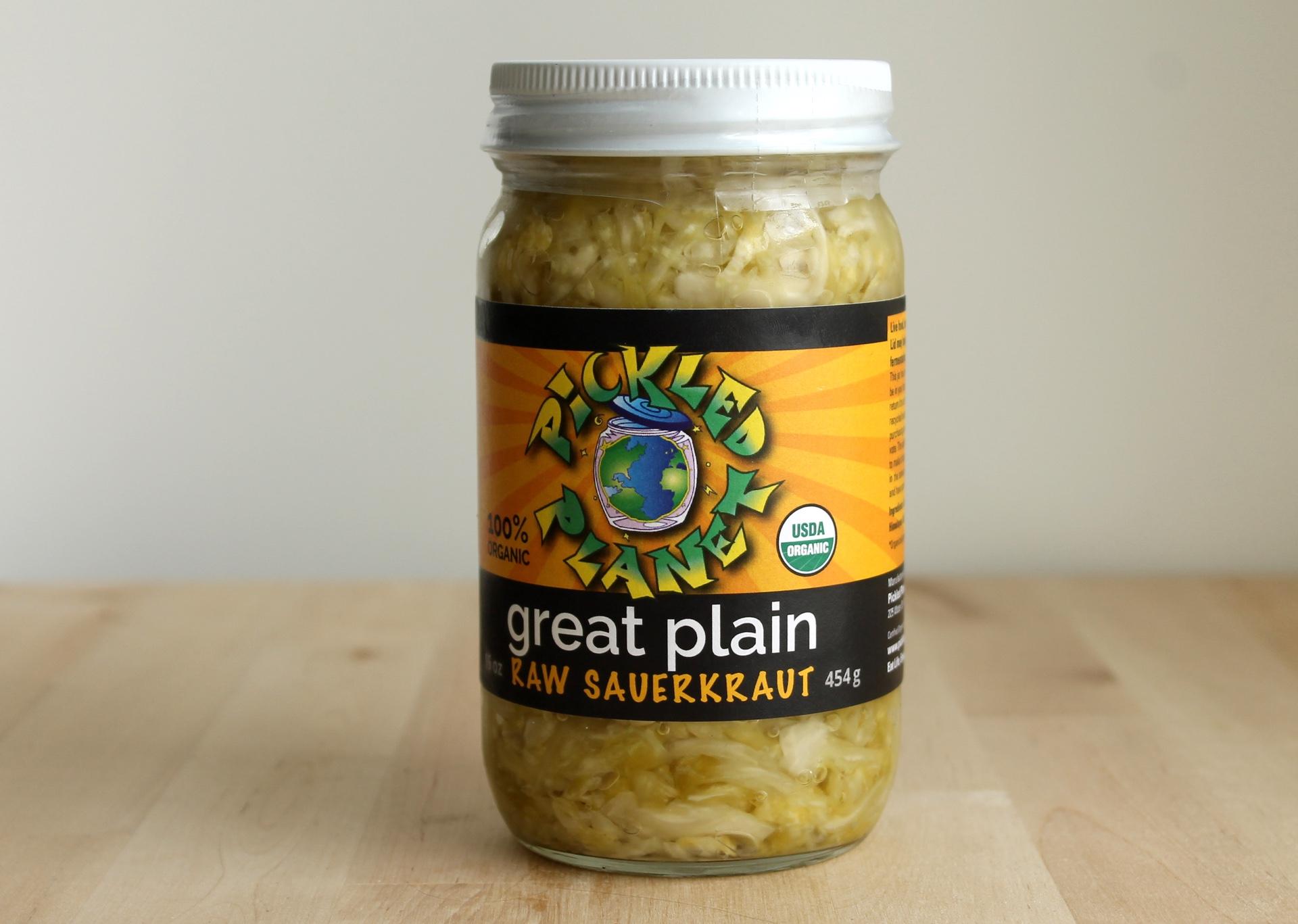 Pickled Planet sauerkraut.