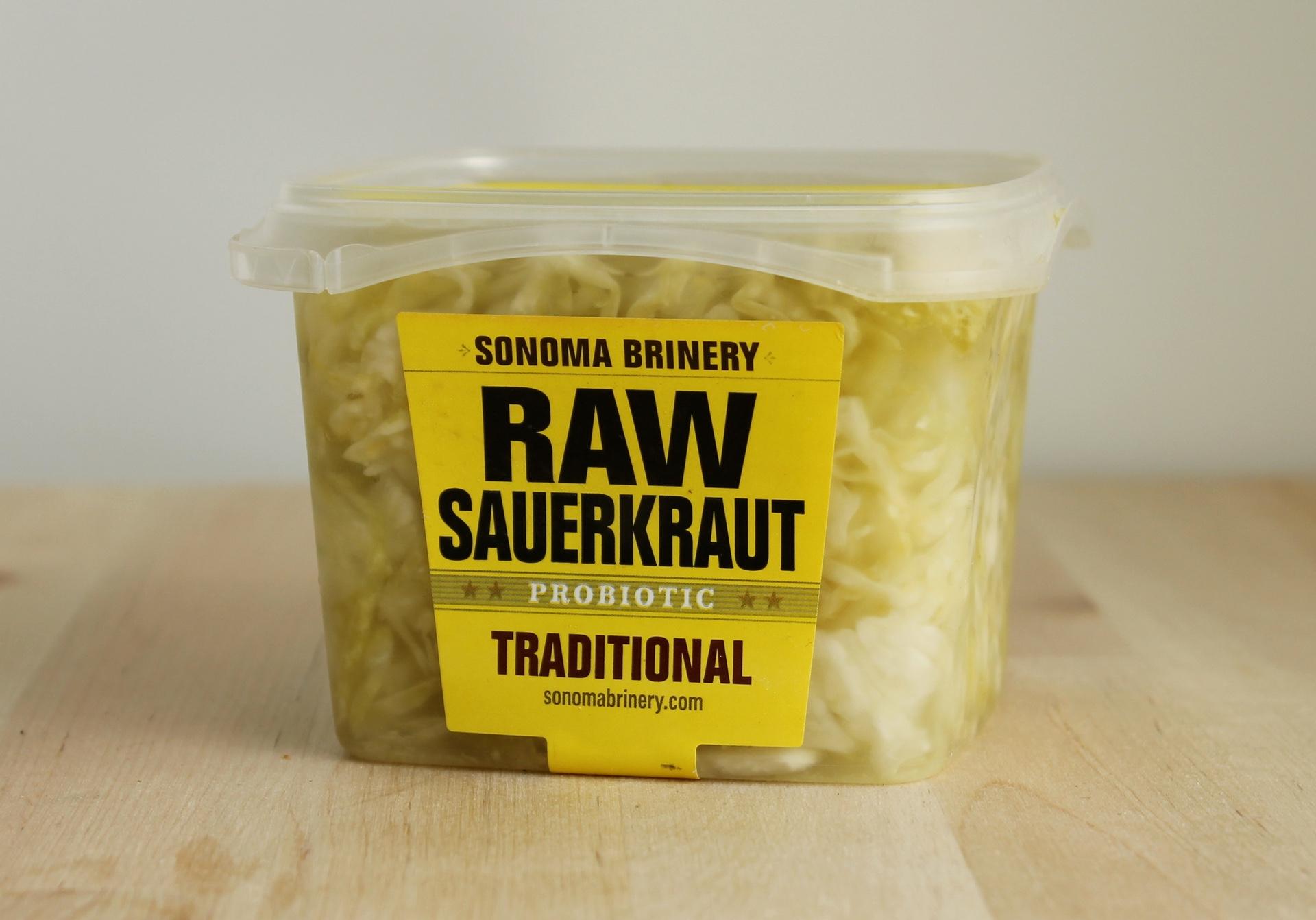 Sonoma Brinery sauerkraut.