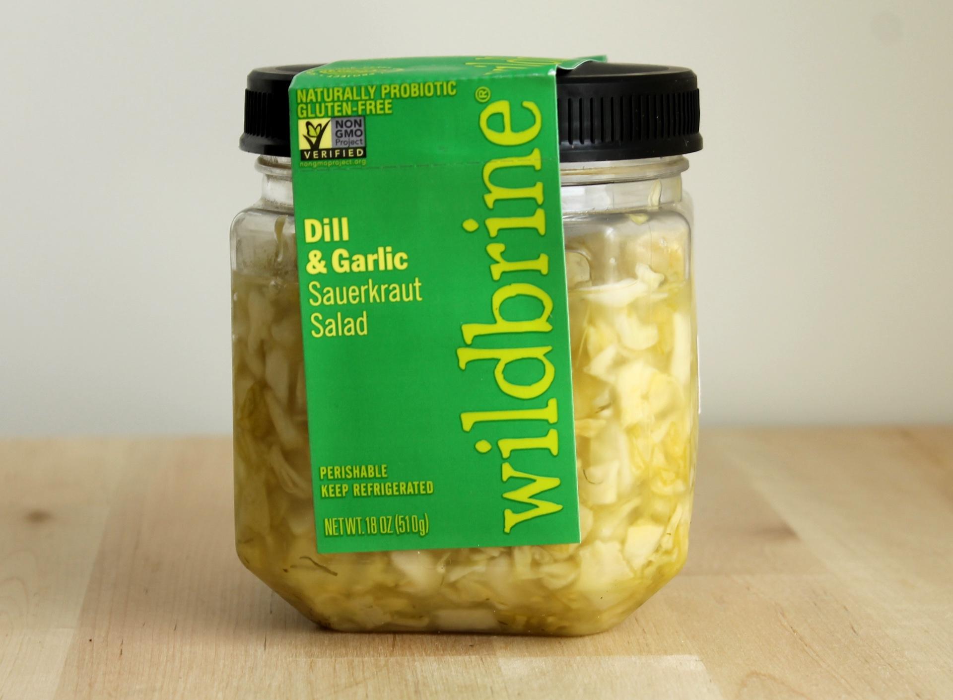 """Wildbrine sauerkraut """"salad."""""""