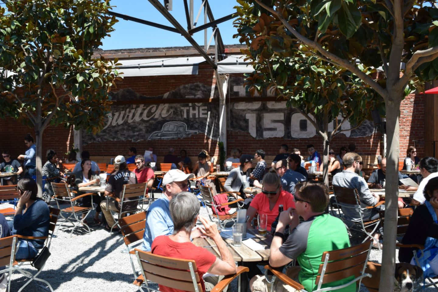 Drake's Dealership: Drake's Brewing Expands Its Empire With Sprawling, Sunny Oakland Beergarden