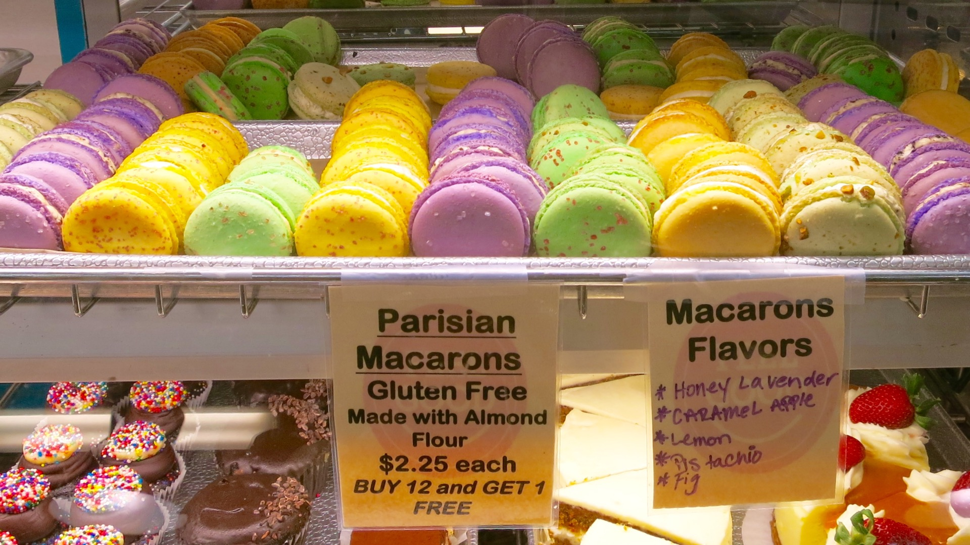 Feel Good Bakery touts the gluten-free ingredients of these almond flour-based desserts.