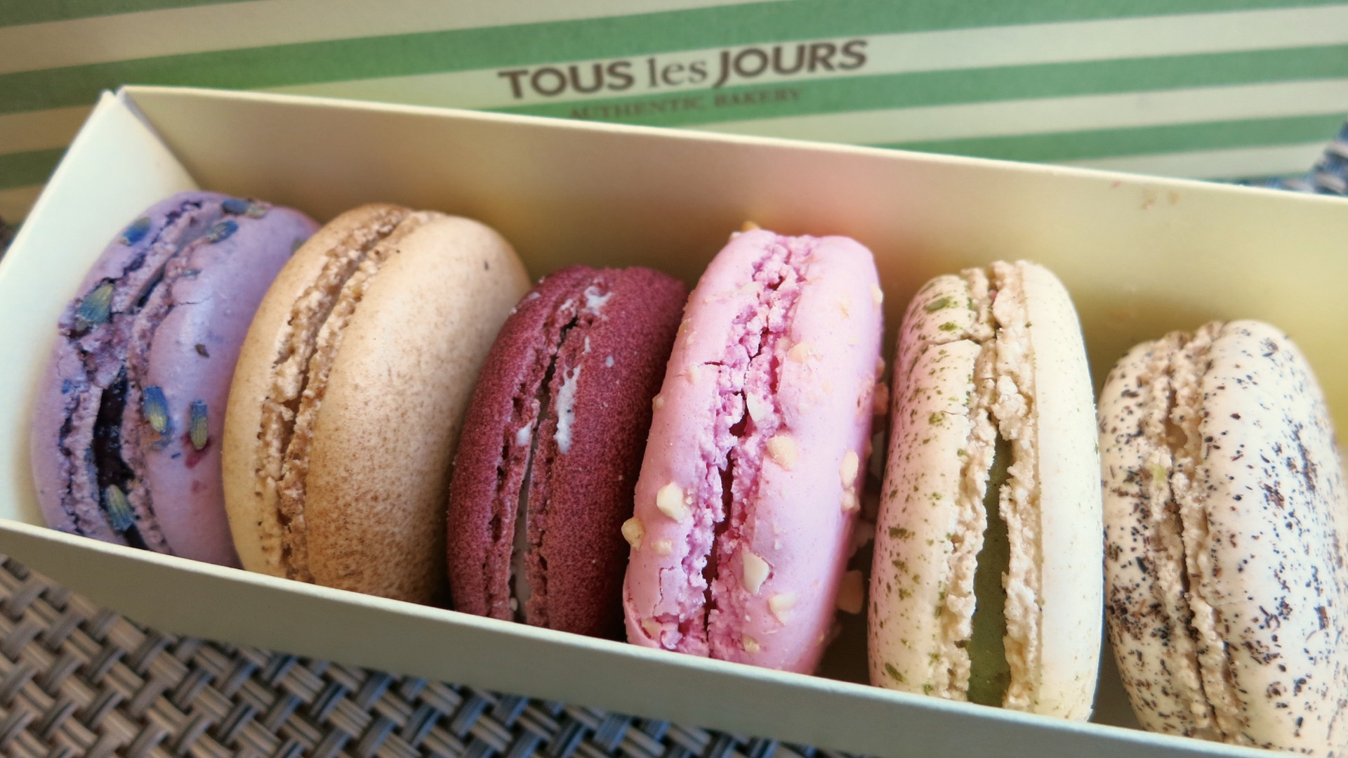 It's hard to top the sheer number of flavors available at Tous Les Jours.