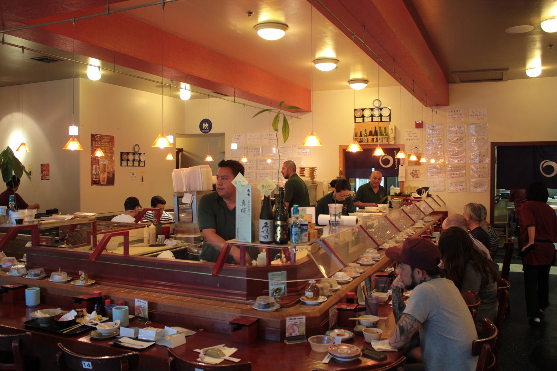 The Sushi Bar At Maru Jeff Cianci