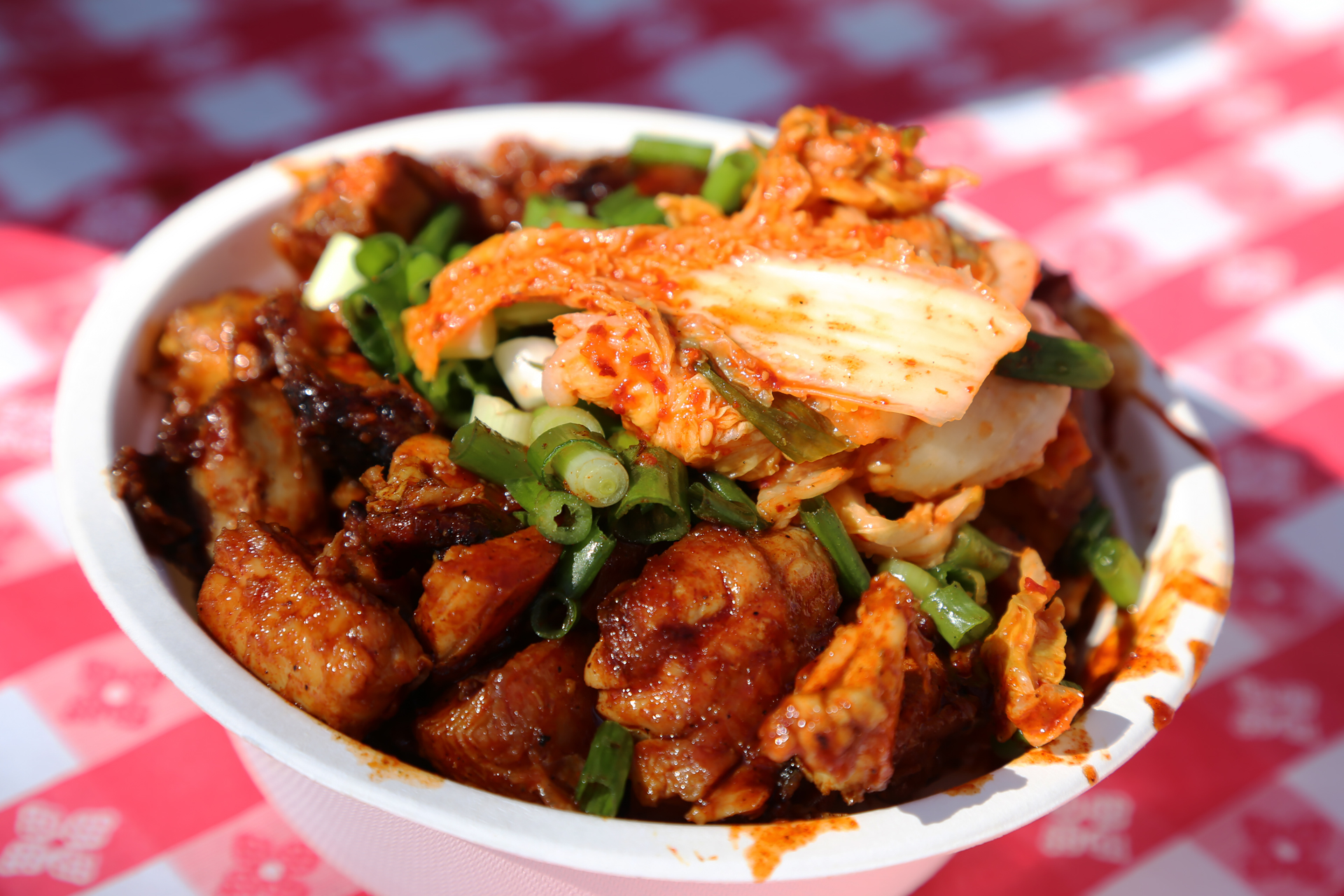 Bombzies BBQ: Korean BBQ chicken bowl