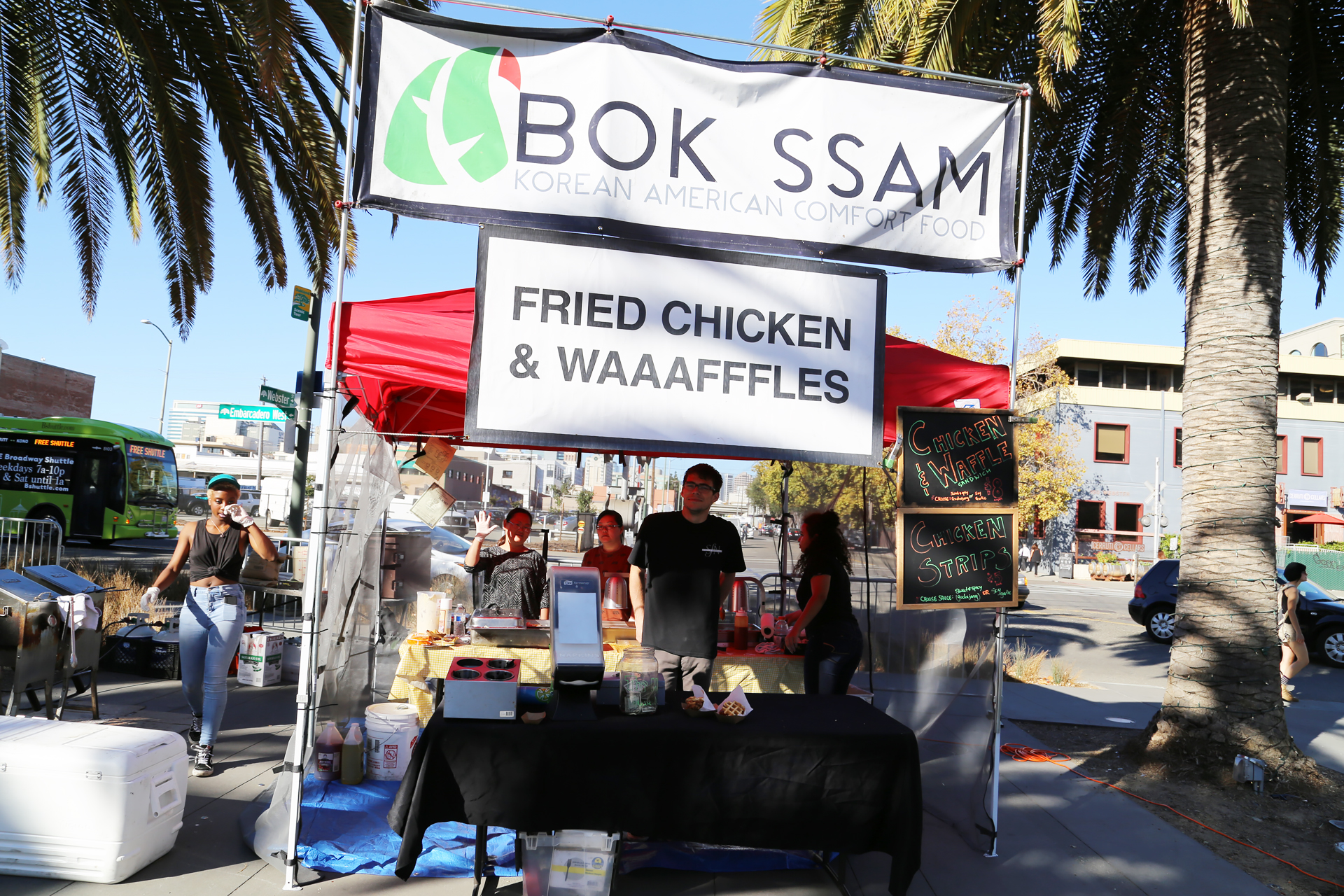 BOK SSAM booth