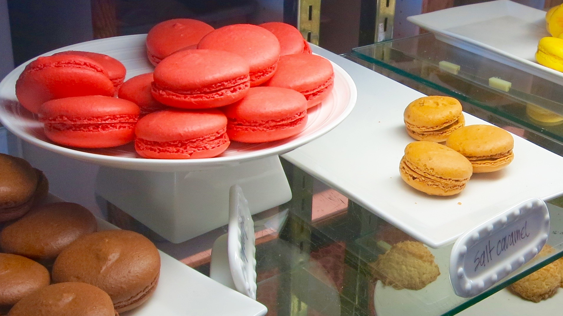 The colorful macarons from Masse's Pastries make a lovely gift (but it's understandable if you eat them all before they get home.
