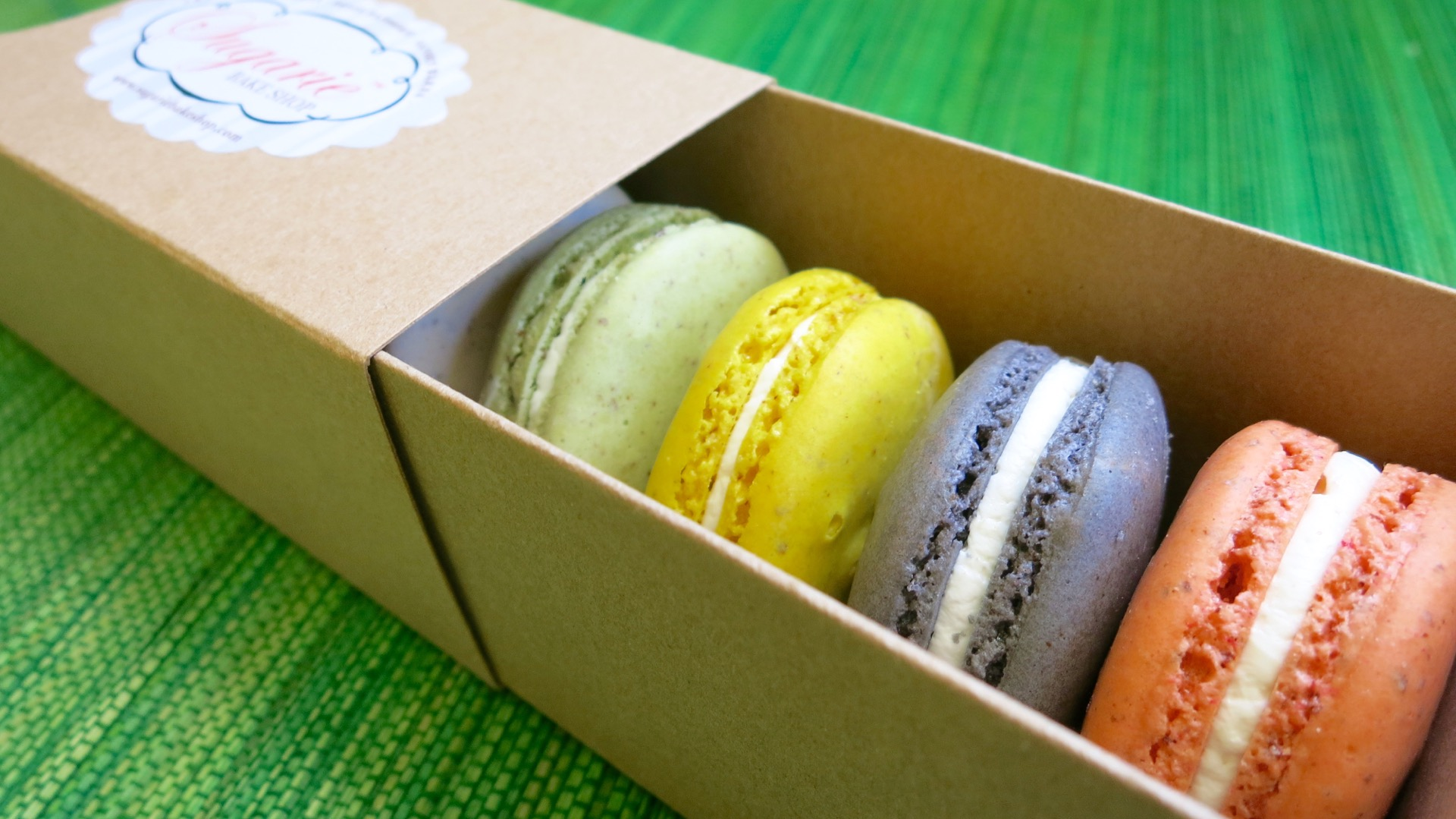 A vivid palette of flavors is available at Sugarie Bakery in Pleasanton.