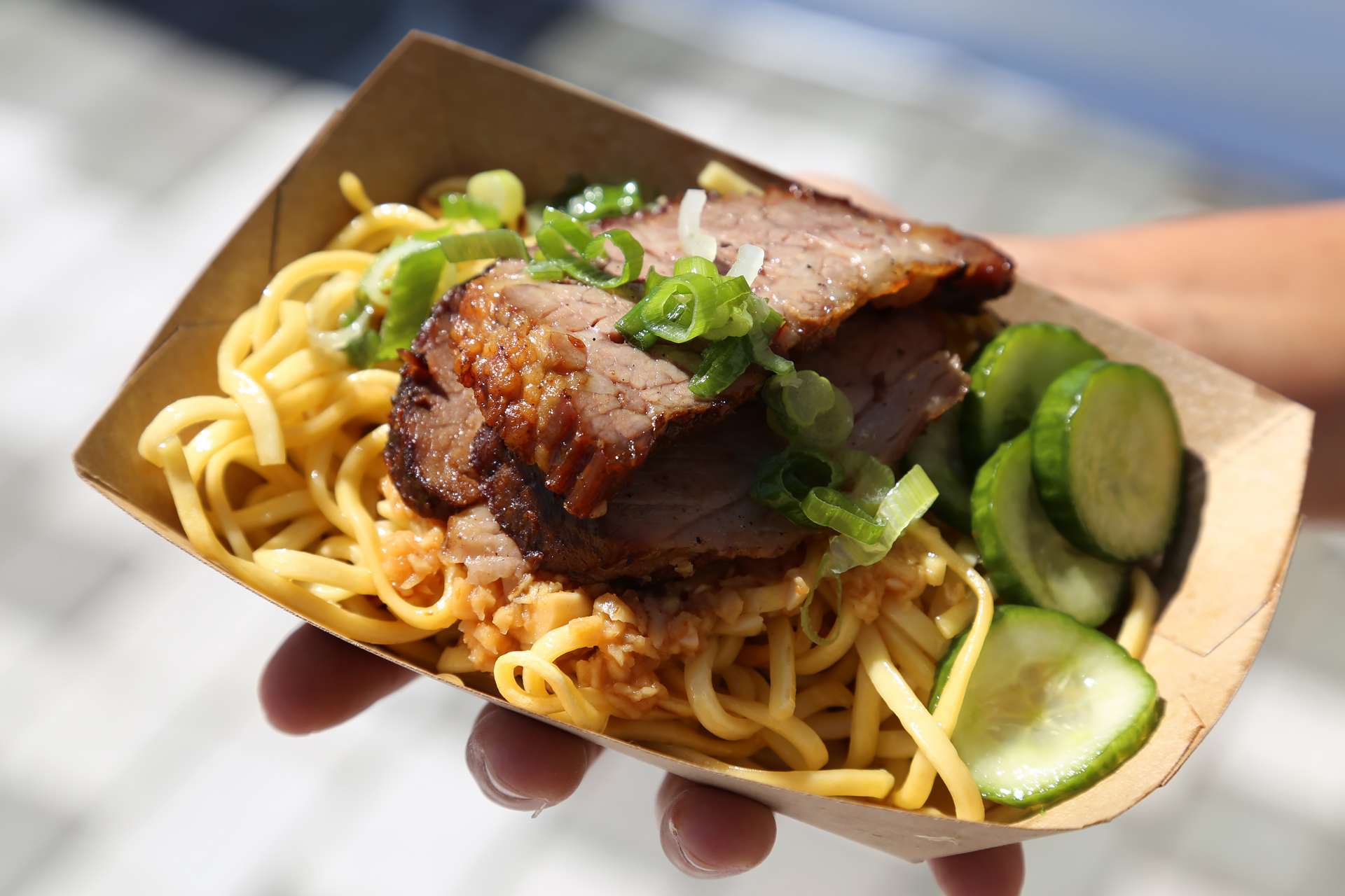 WTF SF: Slow-roasted Angus brisket with egg noodles
