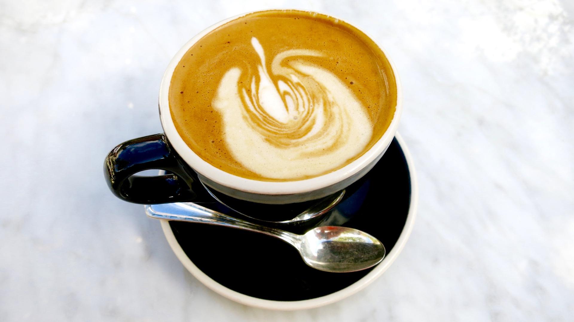 Almond milk cappuccino.