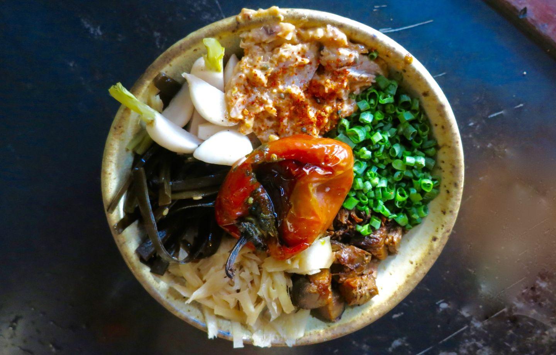 Rockridge's Ramen Shop features a special  donburi bowl that changes daily.   Jenny Oh