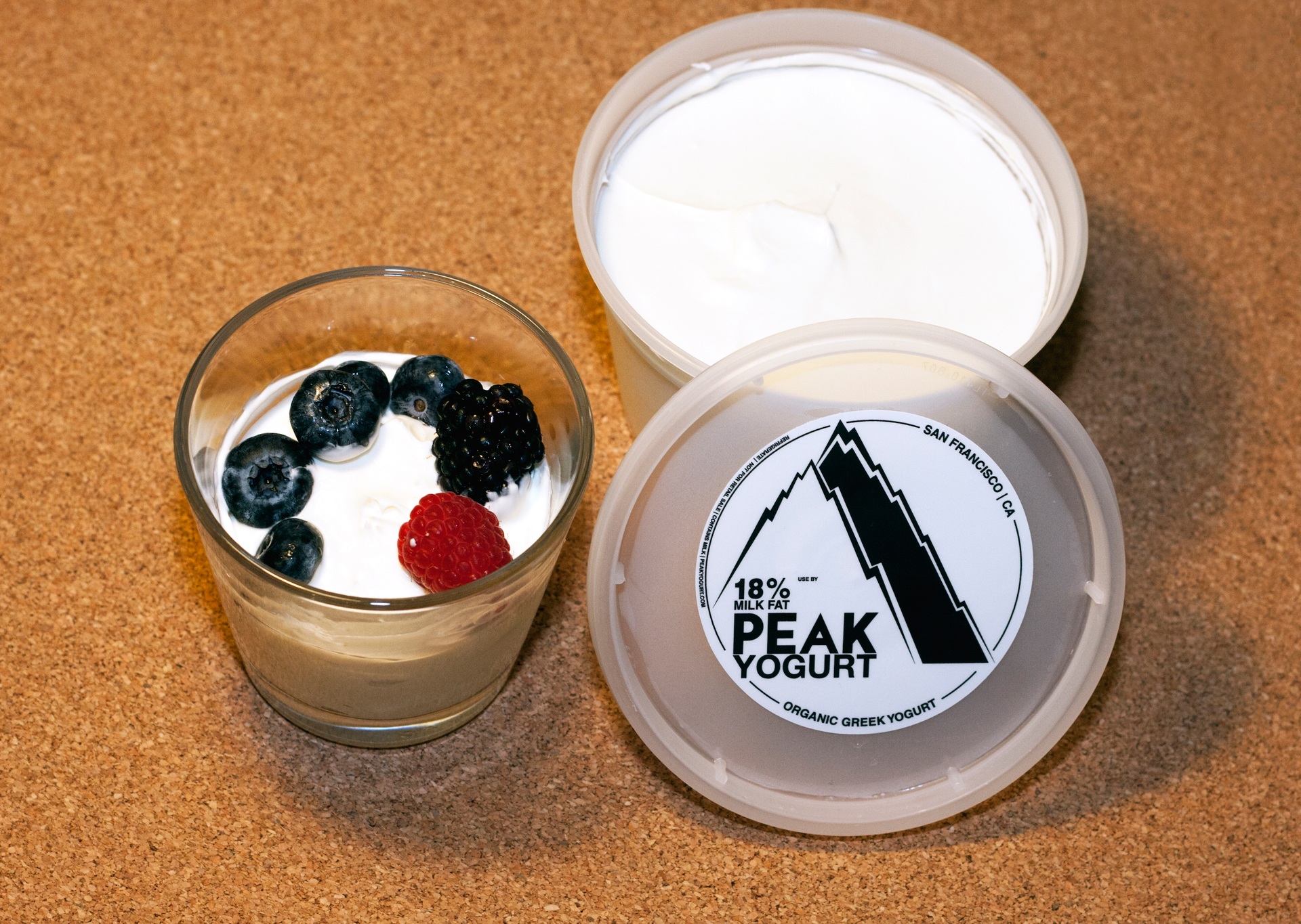 Peak Yogurt has triple the fat of most yogurts currently on the market.