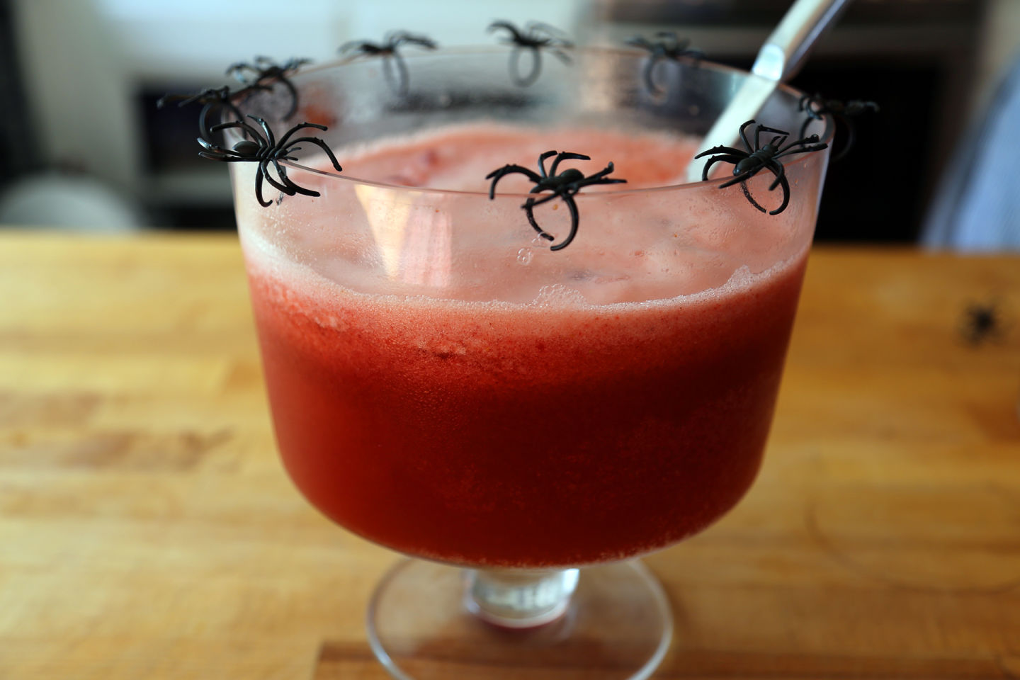 """Bloody"" Halloween Party Punch"