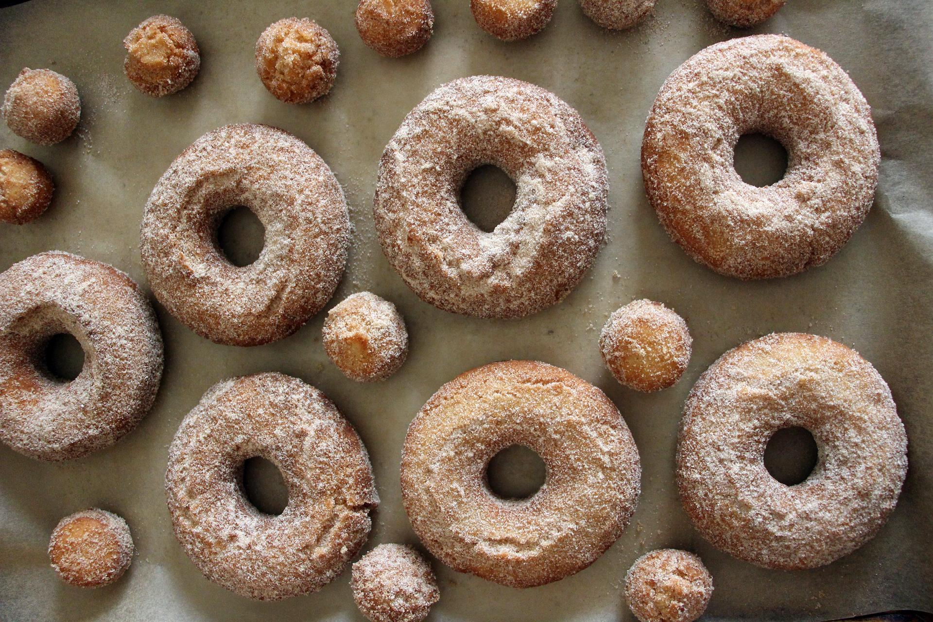 Serve the Old-Fashioned Cinnamon-Sugar Cake Donuts