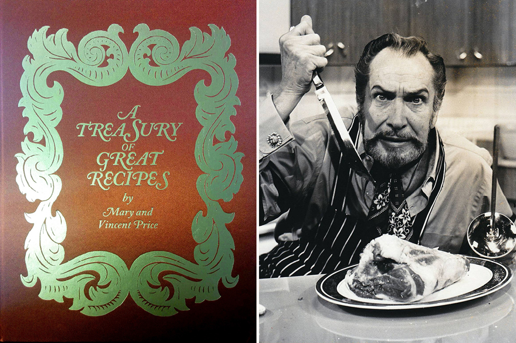 So Good You'll Scream? A Cookbook From Horror Icon Vincent Price