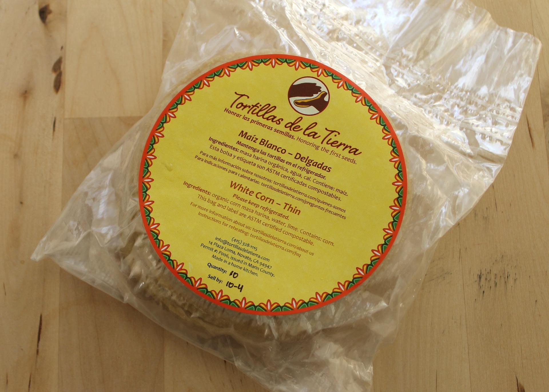 Tortillas de la Tierra tortillas.