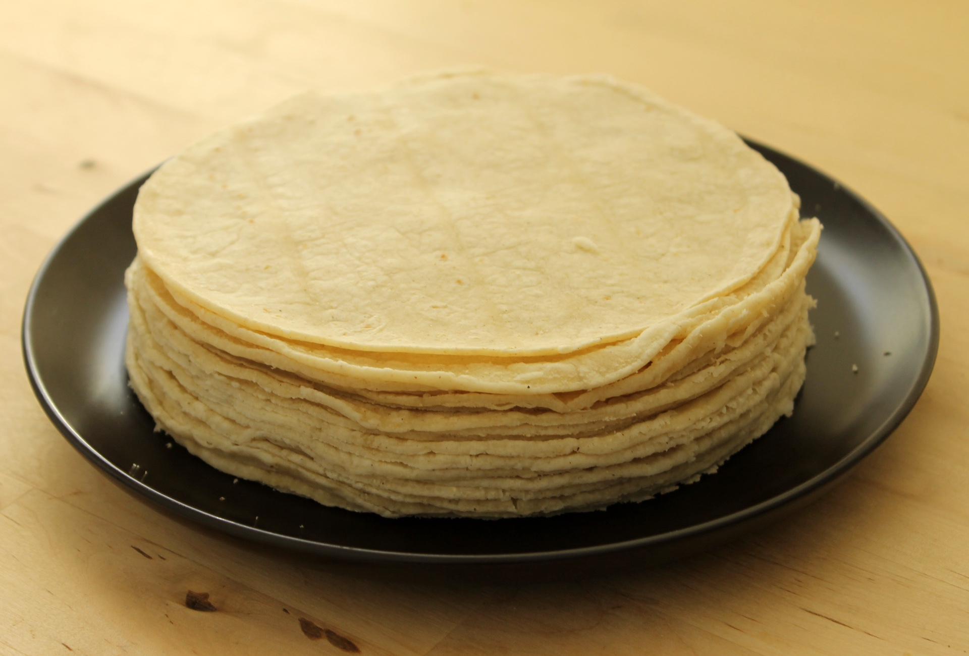Mi Pueblo's tortillas are made in house and sold hot.