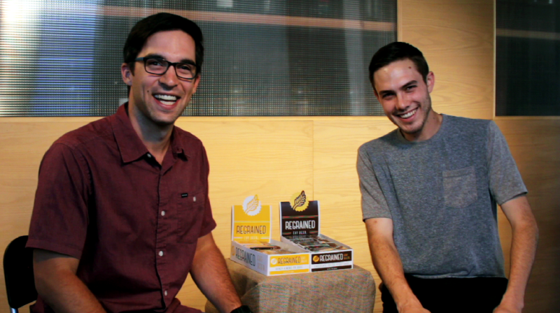 Dan Kurzrock, left, and Jordan Schwartz came up with the idea for ReGrained while still in college at UCLA.