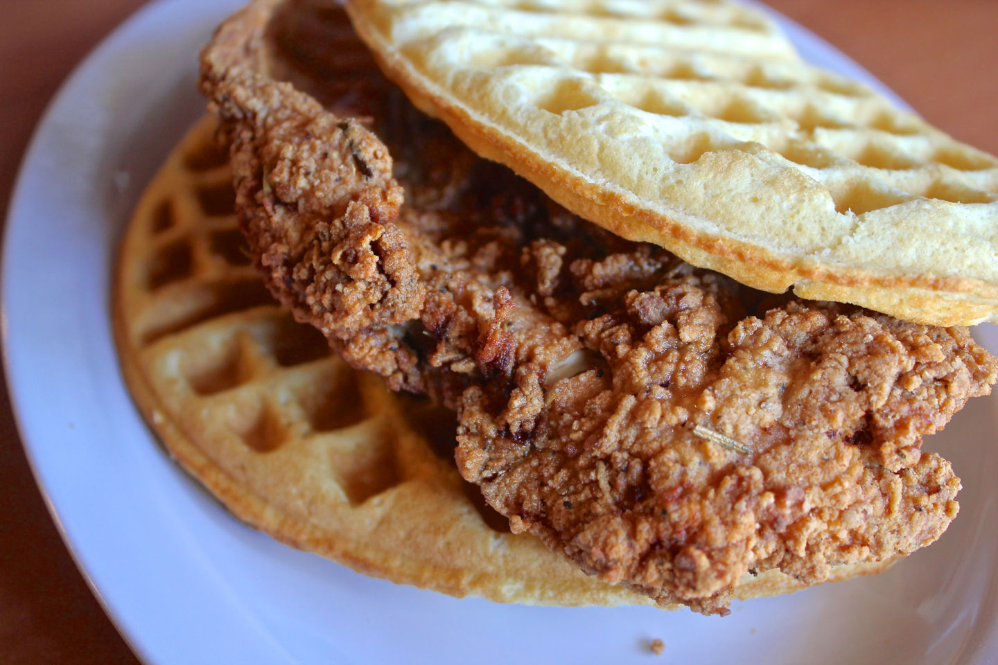 The Chicken 'N Waffle at Butter & Zeus.  Jeff Cianci