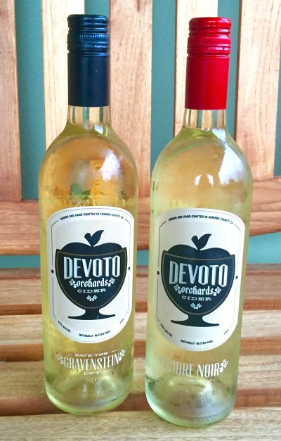 Jolie Devoto started Devoto Orchard's Estate Cider on her parent's heirloom apple farm in Sebastopol.