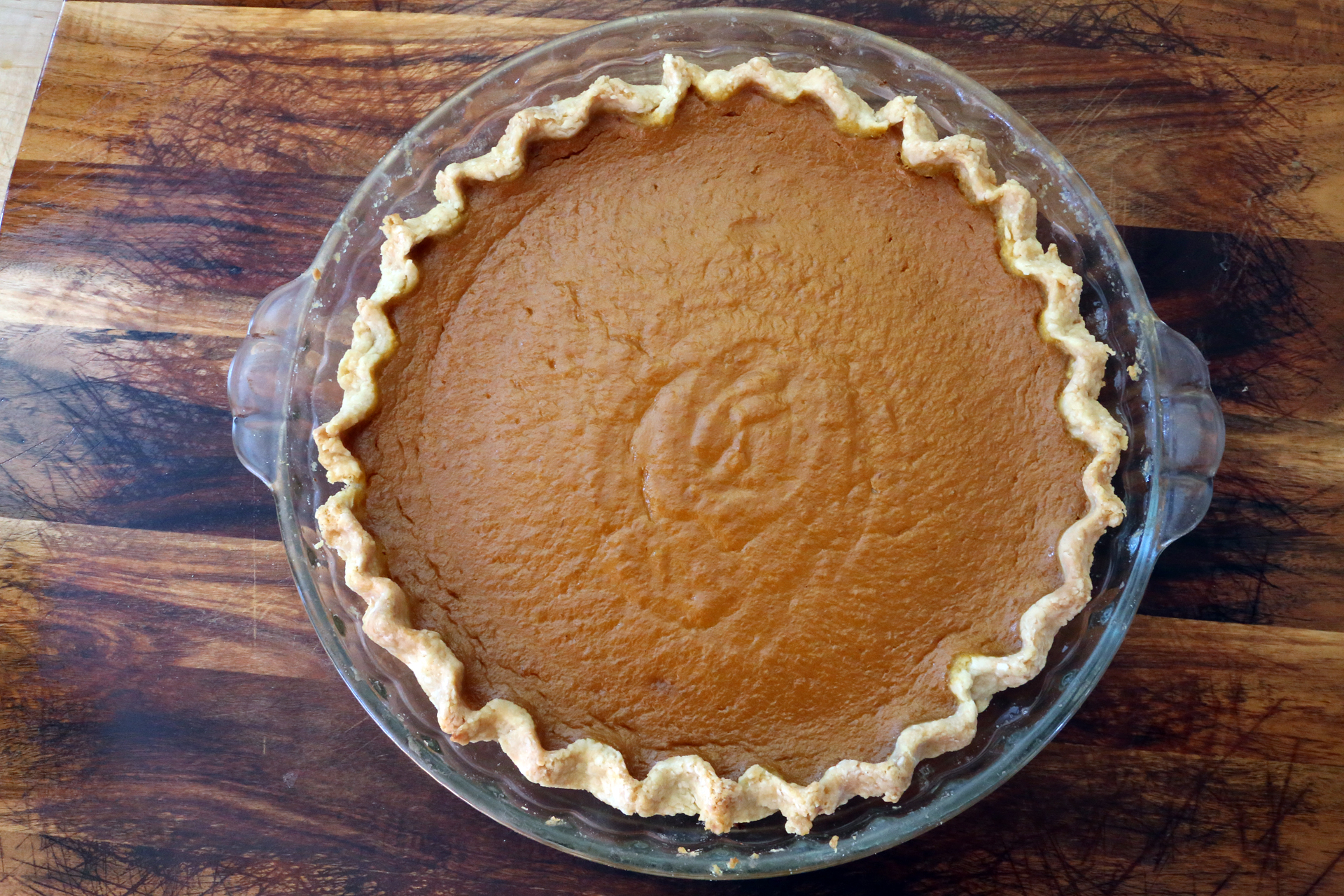 how to make pumpkin puree into pie filling