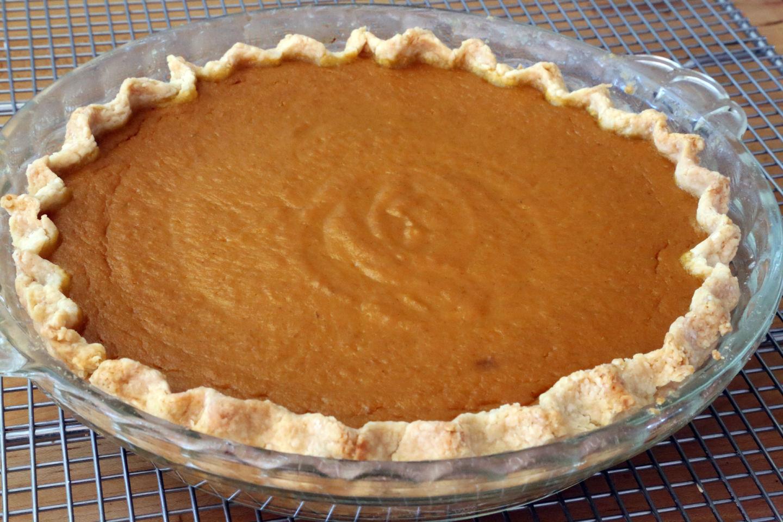 Classic Spiced Maple Pumpkin Pie Wendy Goodfriend