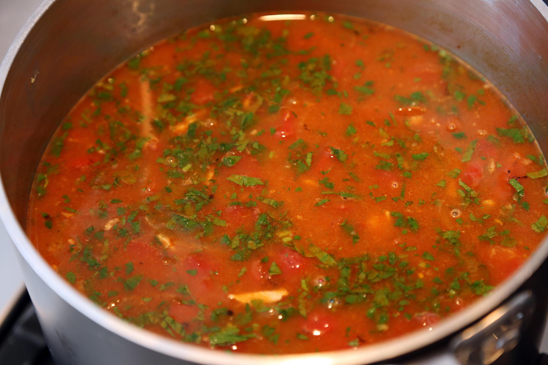 Thanksgiving Leftovers: Mexican Turkey Tortilla Soup with Lime and ...