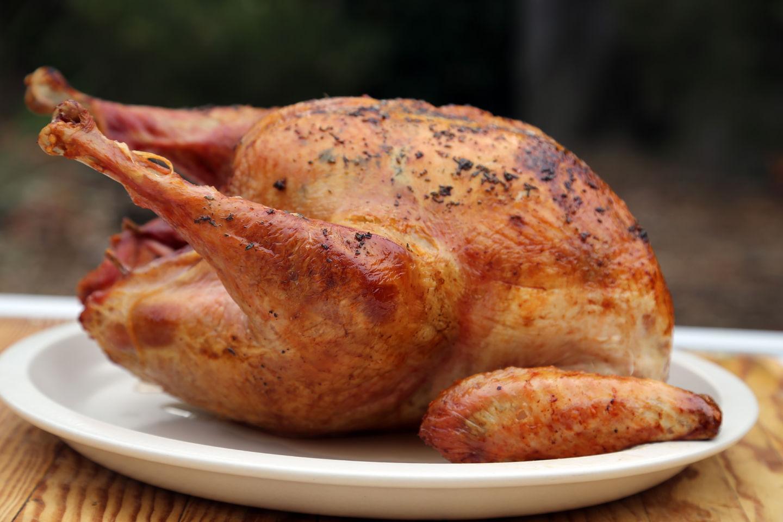 Dry-Brined Herbed Roast Turkey Wendy Goodfriend