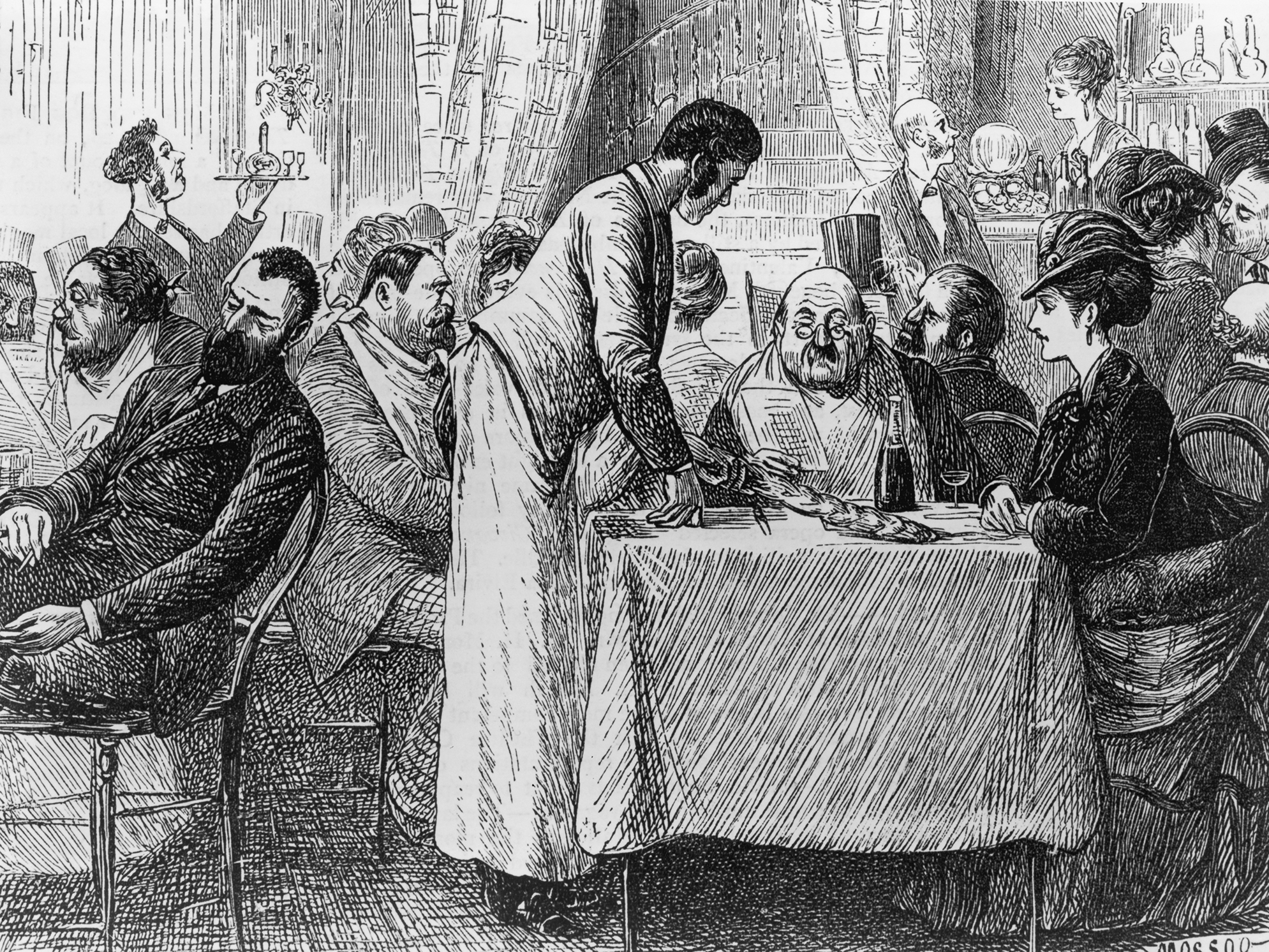 Imported from Europe, the custom of leaving gratuities began spreading in the U.S. post-Civil War. It was loathed as a master-serf custom that degraded America's democratic, anti-aristocratic ethic.