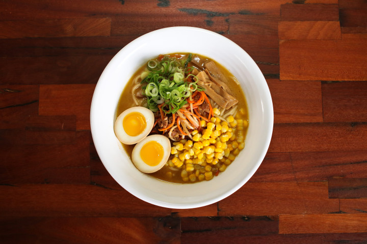 Shiba Ramen's miso ramen will include ground pork sautéed with the fermented soy bean paste.