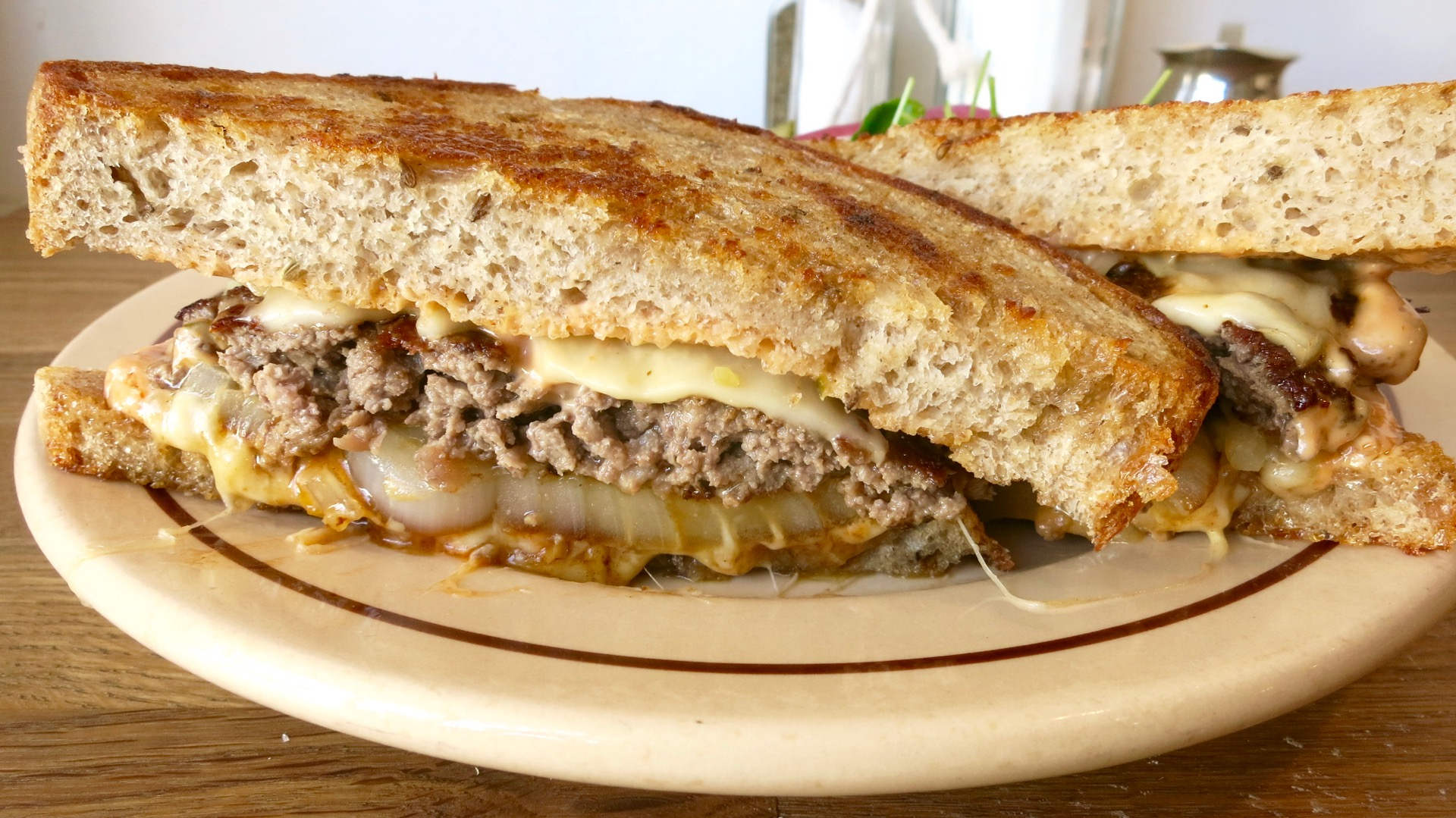 Sequoia Diner's stellar patty melt is above and beyond what you'd find at a regular diner.