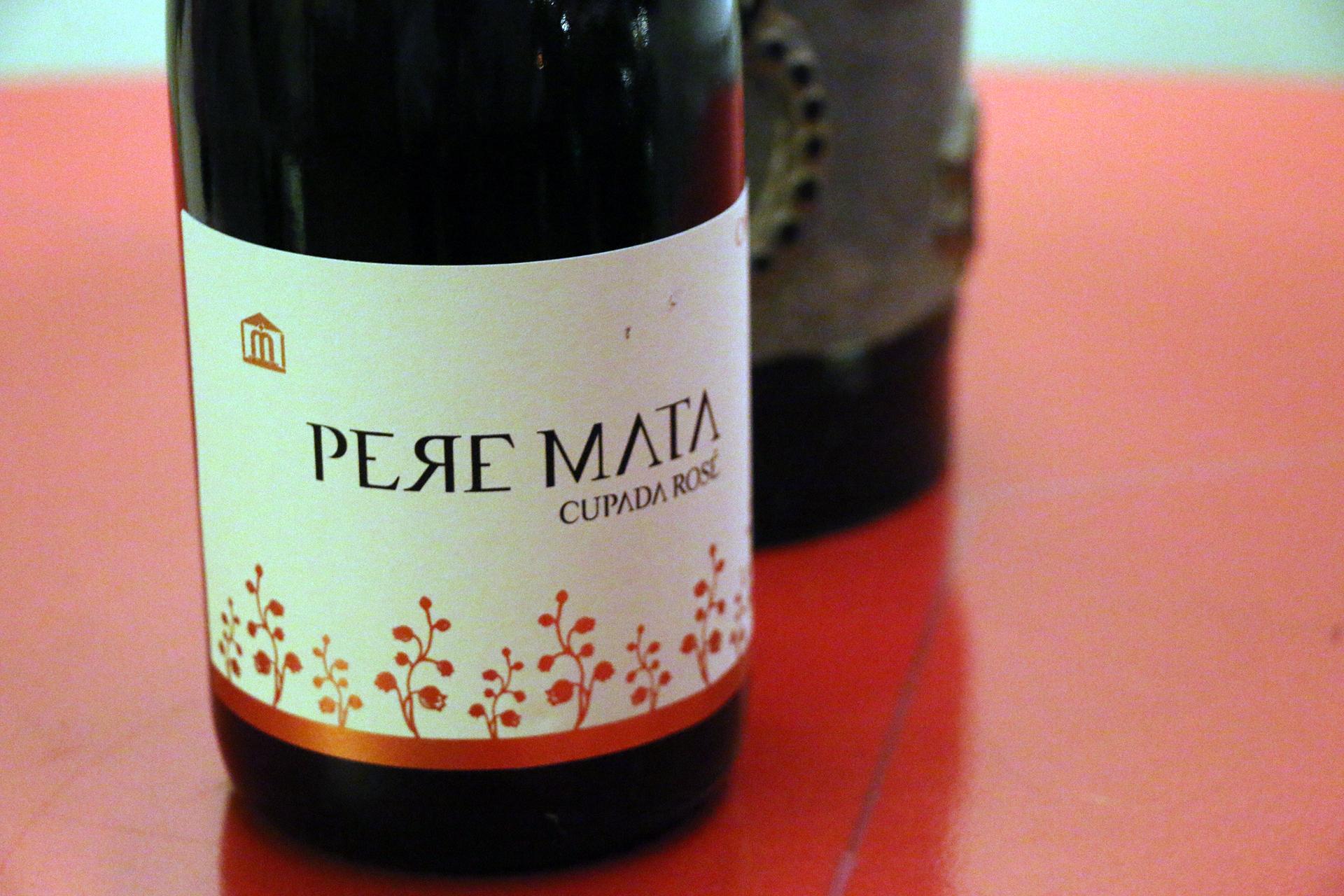 PereMata: Pere Mata Cupado Rosé Non-Vintage