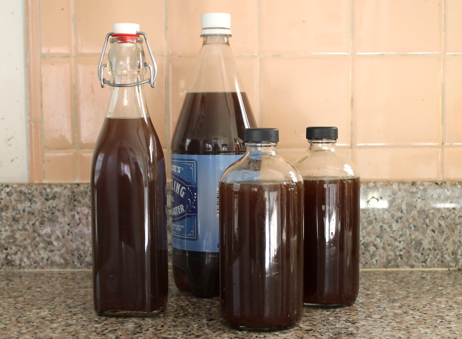 I always use at least one plastic bottle when making homemade soda — it makes it easy to monitor carbonation.