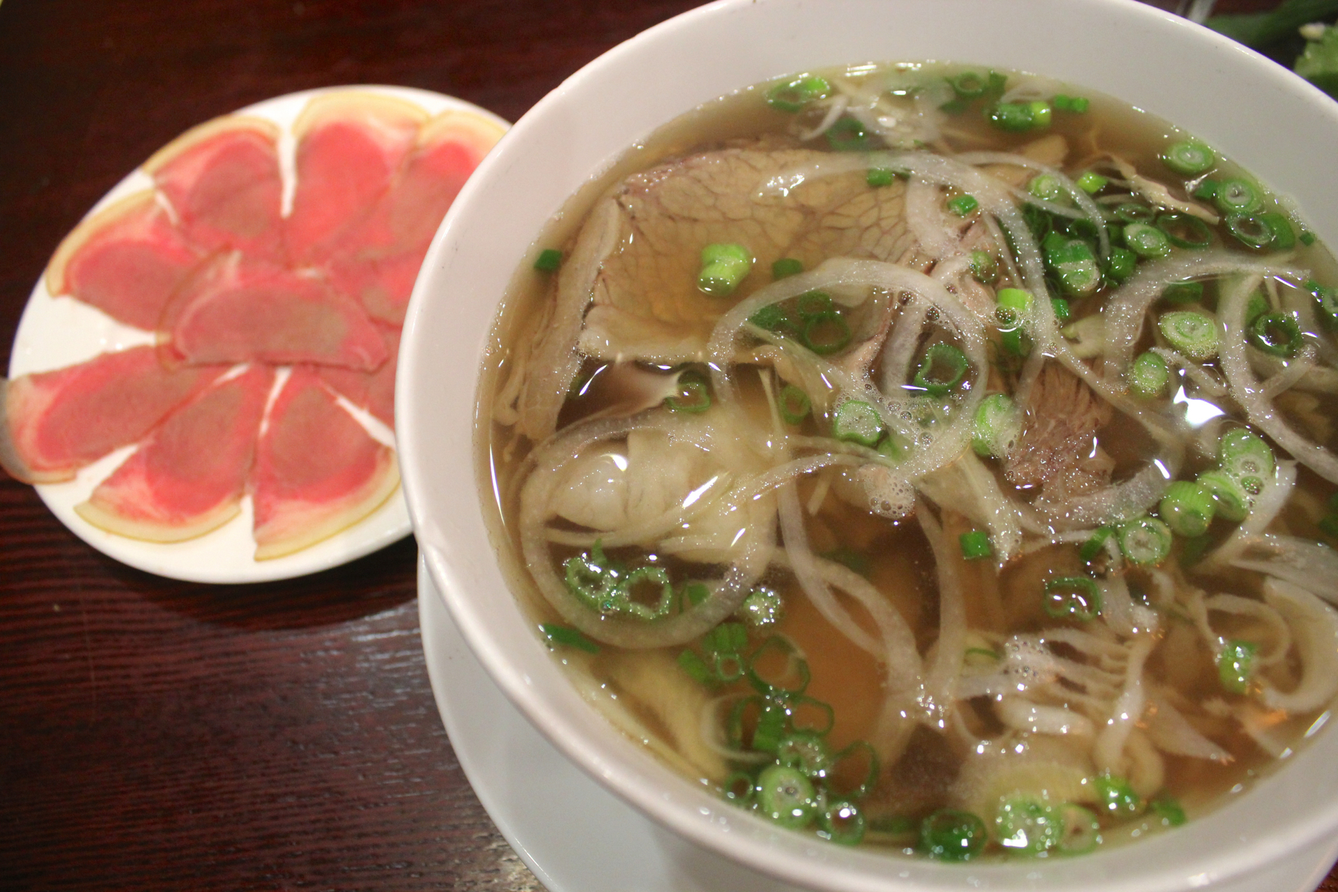 The smoked veal special pho at Pho 90 Degree.