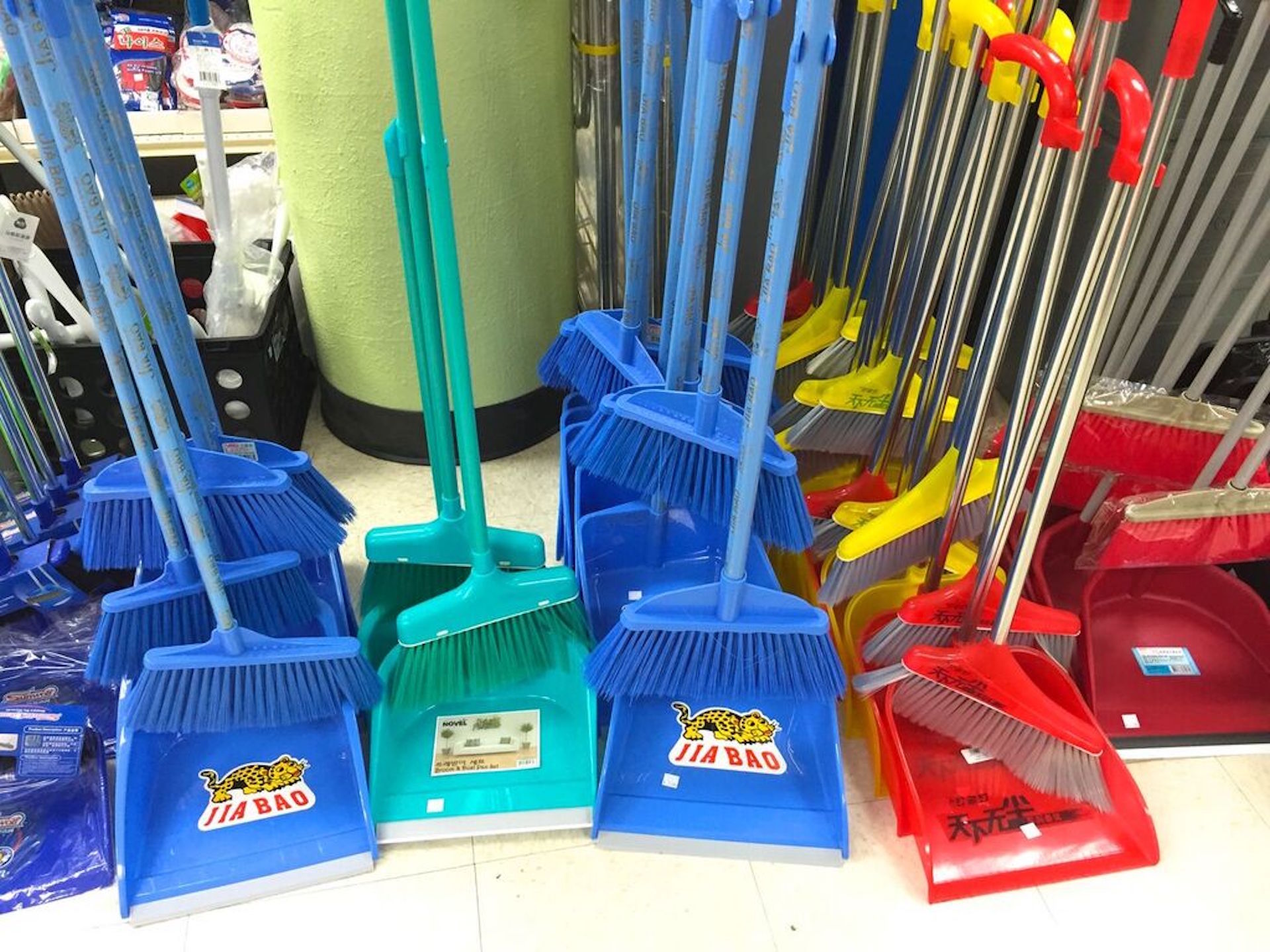 Sweep away last year's bad luck