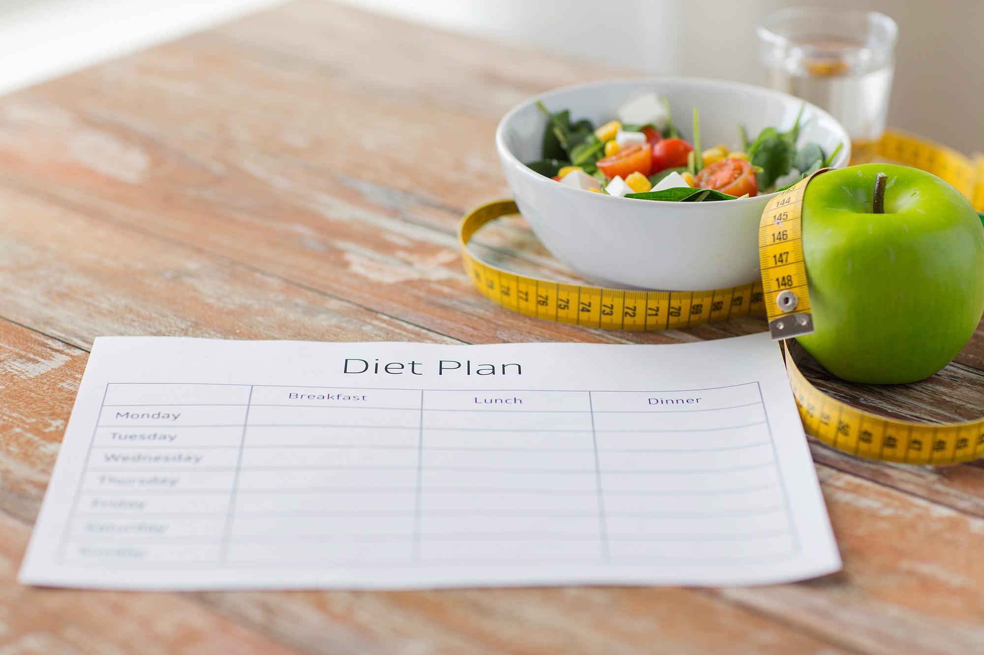 Diet Plan 2016