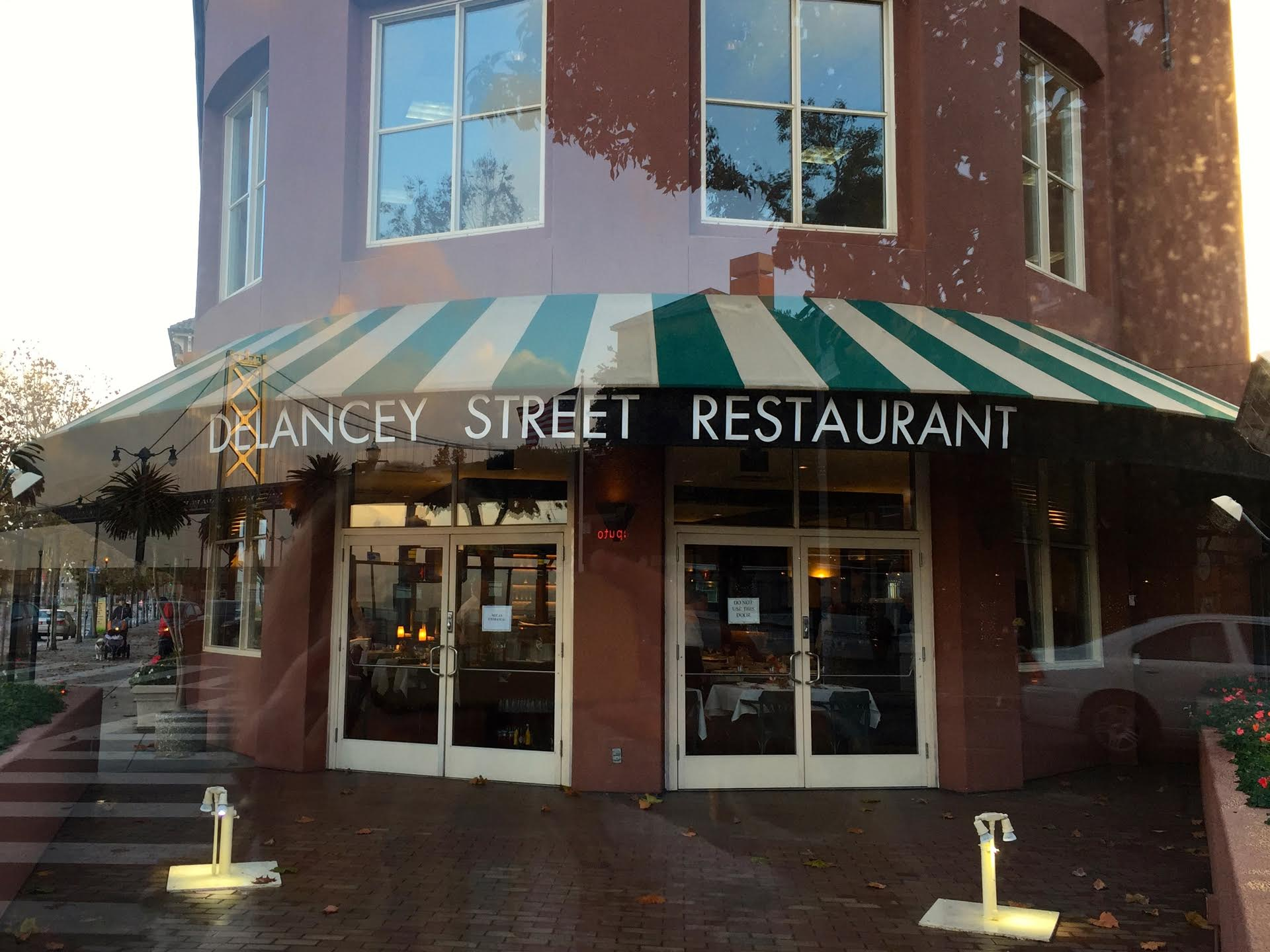 Delancey Street Restaurant on San Francisco's Embarcadero.