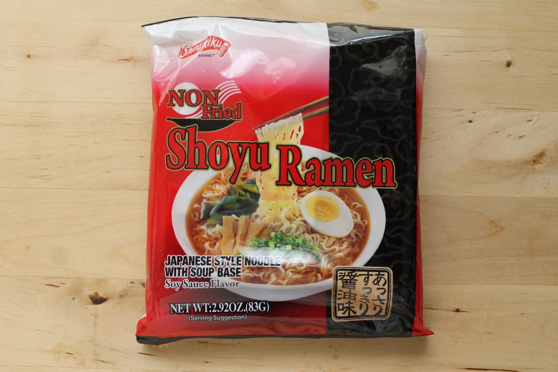 Shirakiku Non-Fried Shoyu Ramen.