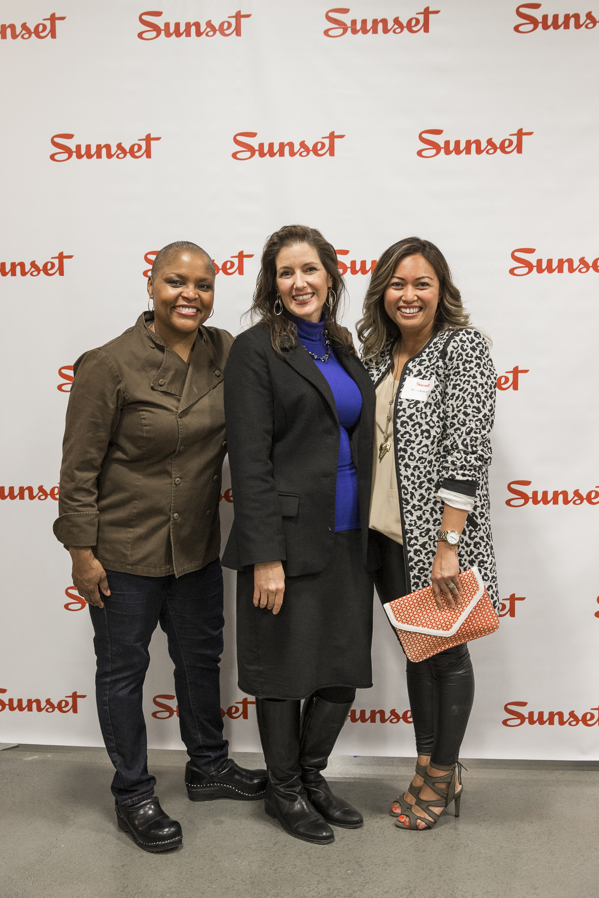 Chef Tanya Holland, Oakland Mayor Libby Schaaf, Sunset Editor-in-Chief Irene Edwards