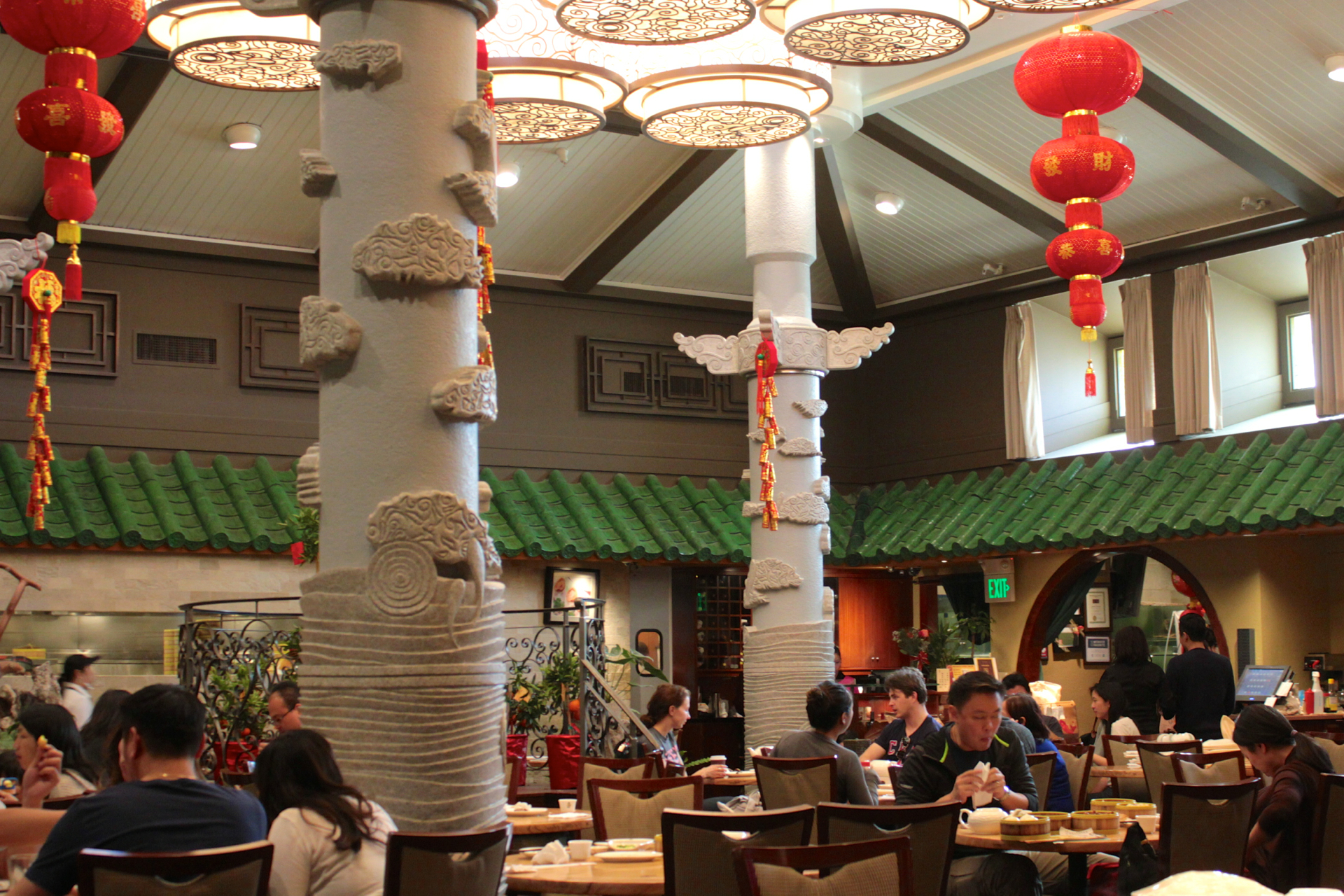 The Dining Room Of Koi Palace In Daily City Jeff Cianci