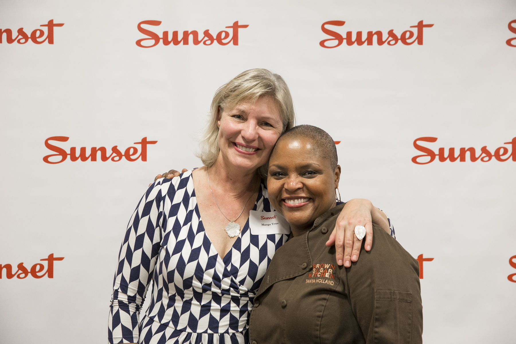 Sunset Food Editor Margo True, Chef Tanya Holland