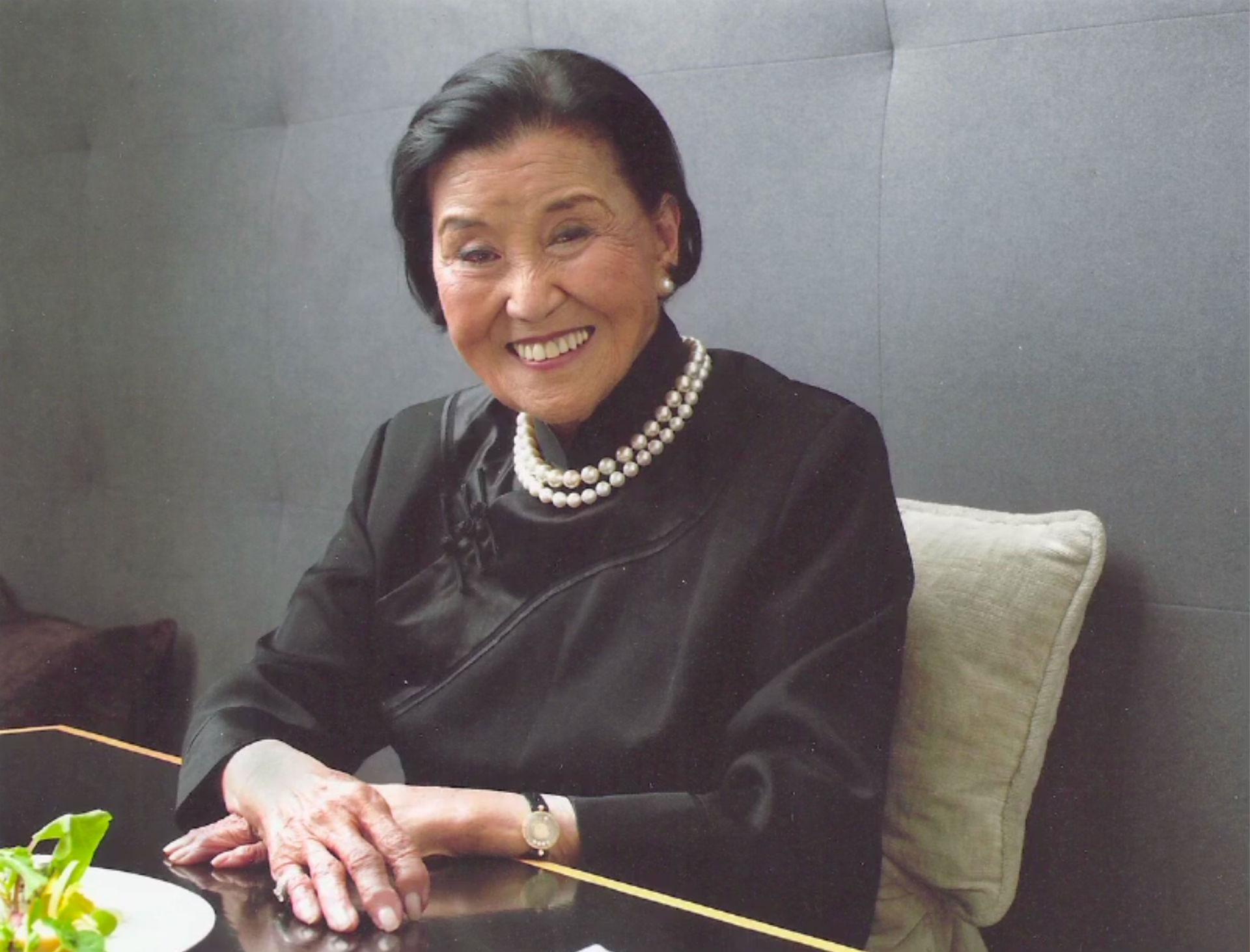 Cecilia Sun Yun Chiang, still from Wayne Wang's Soul of a Banquet