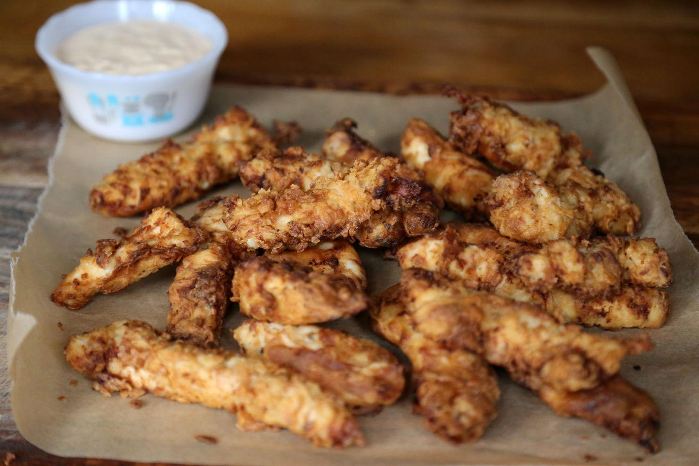 Buttermilk Chicken Fried Chicken Fingers Wendy Goodfriend