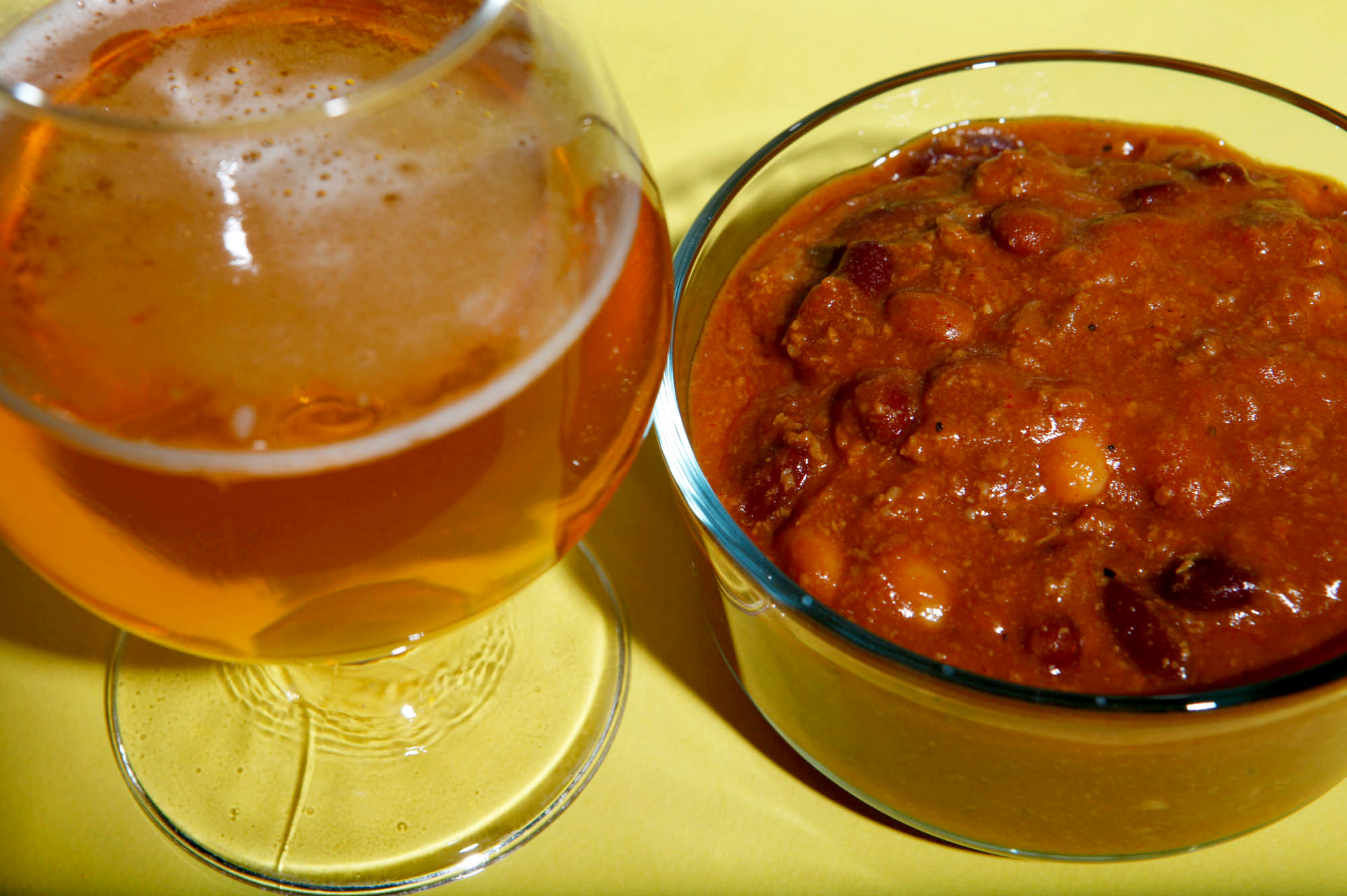 Chili with Chasin' Freshies India Pale Ale Fresh Hop IPA
