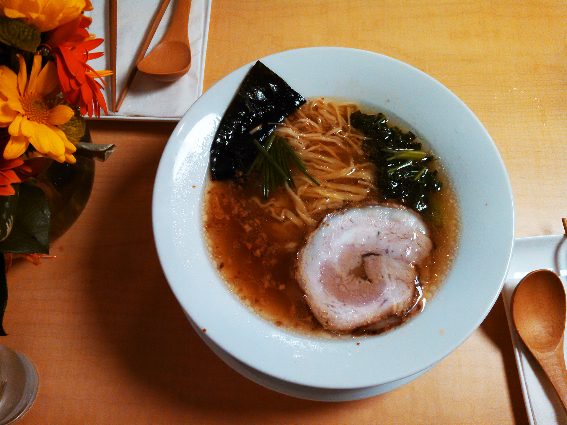 The Shio ramen with pork chasu.
