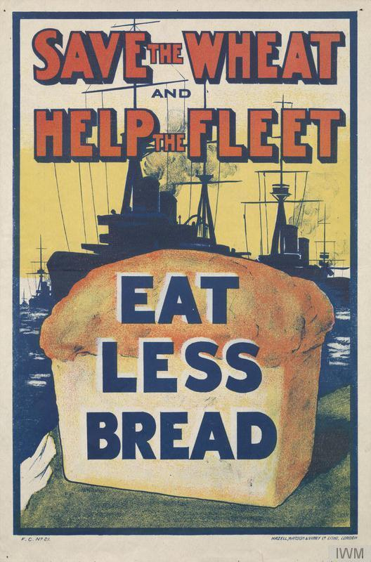 'Save The Fleet, Eat Less Wheat': The Patriotic History Of Ditching Bread
