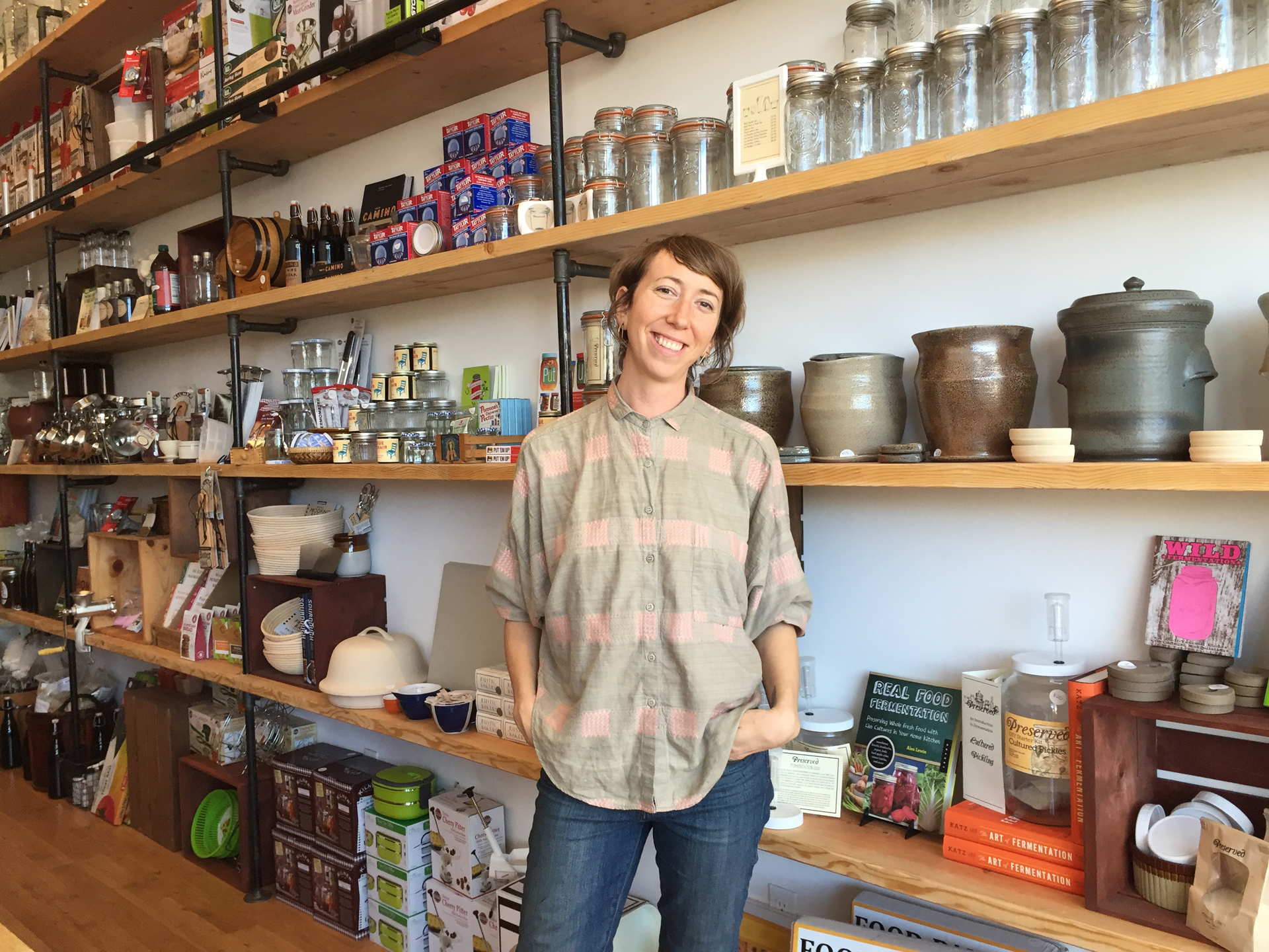 Elizabeth Vecchiarelli has just moved to Temescal with a larger version of her popular store, Preserved.