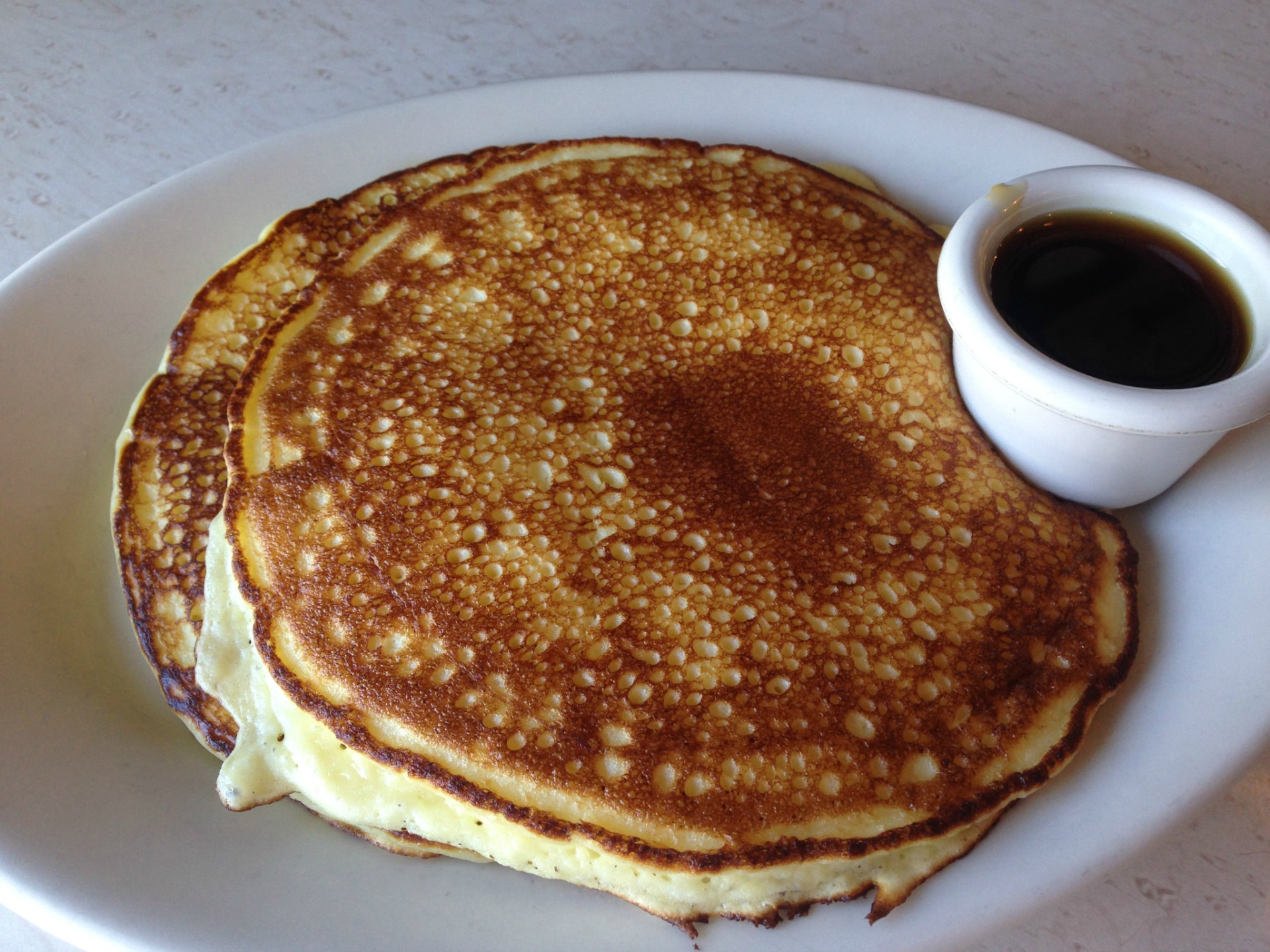 Ricotta pancakes from Rockridge Cafe