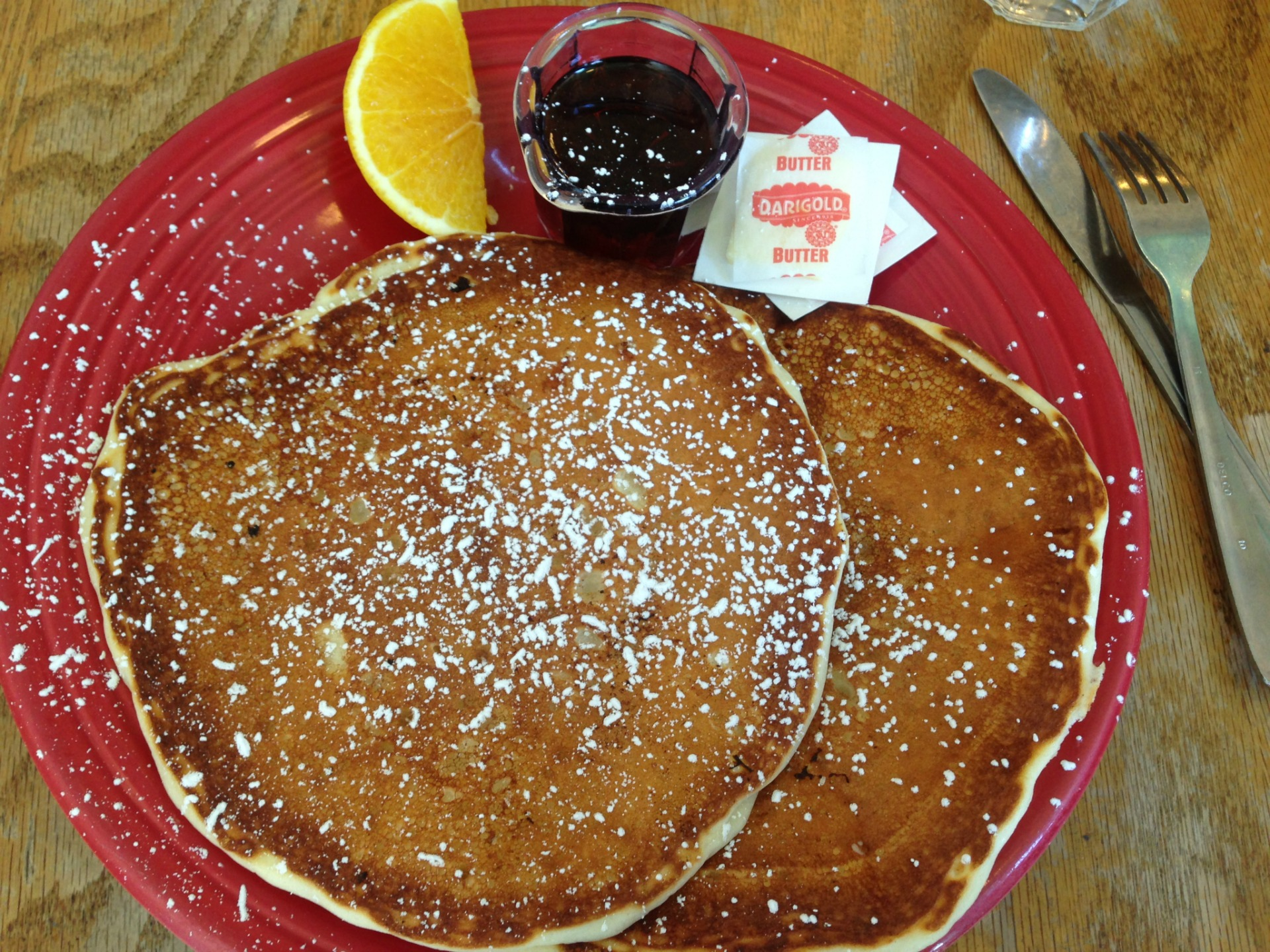 Buttermilk pancakes at Mama's Royal Cafe